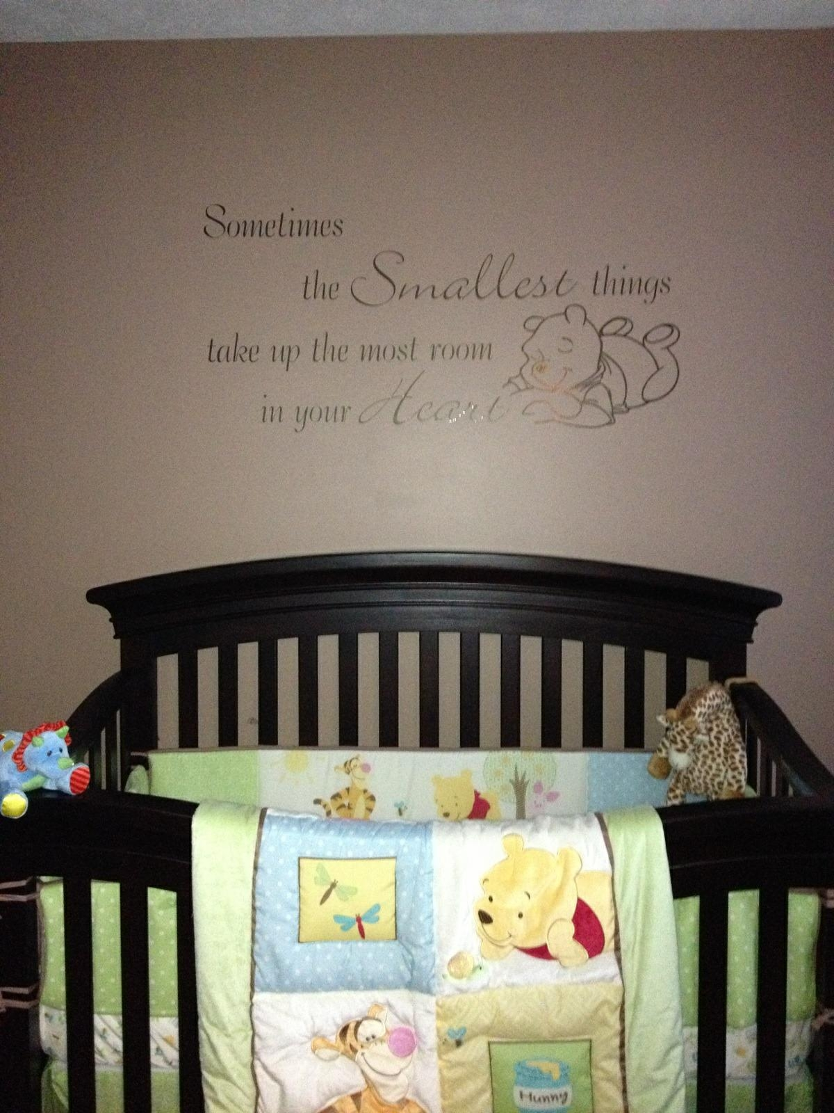 Vinyl Wall Art | Usa Signs Llc throughout Winnie The Pooh Vinyl Wall Art