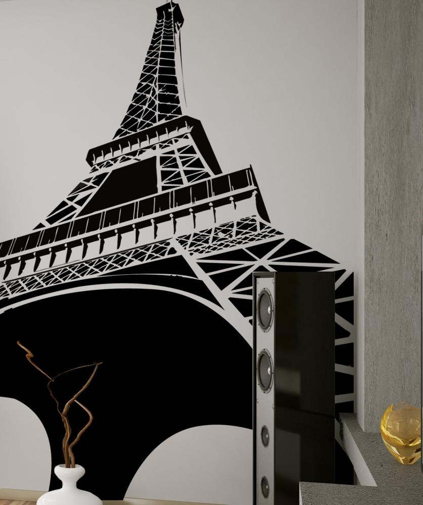 Wall Art: Amazing Eiffel Tower Wall Art Wire Eiffel Tower Decor Pertaining To Eiffel Tower Metal Wall Art (View 10 of 20)