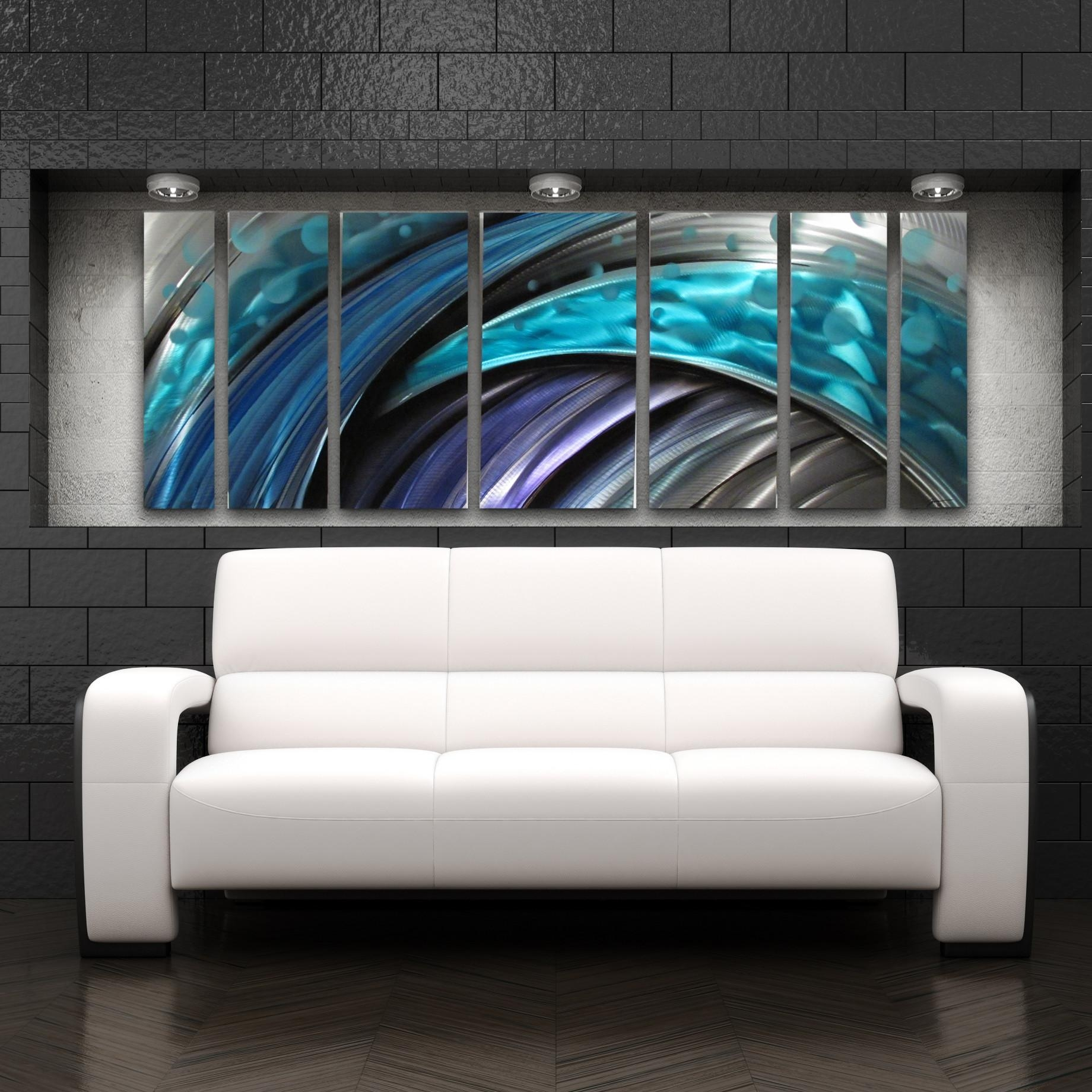Wall Art: Amazing Modern Abstract Wall Art Contemporary Abstract For Big Metal Wall Art (Image 18 of 20)