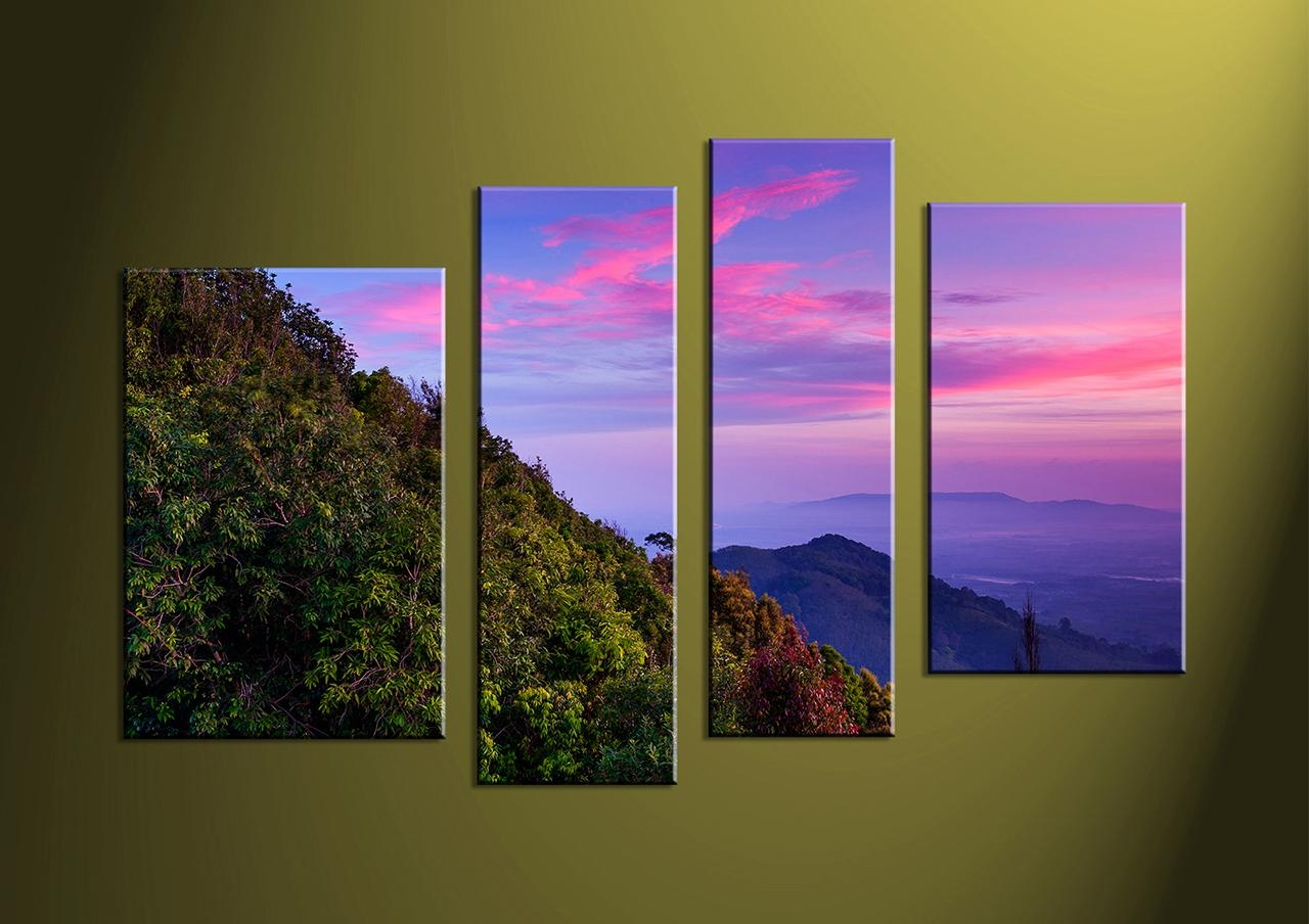 Wall Art: Amazing Multi Panel Art Multi Panel Wall Art Black And Throughout Multiple Canvas Wall Art (View 3 of 20)