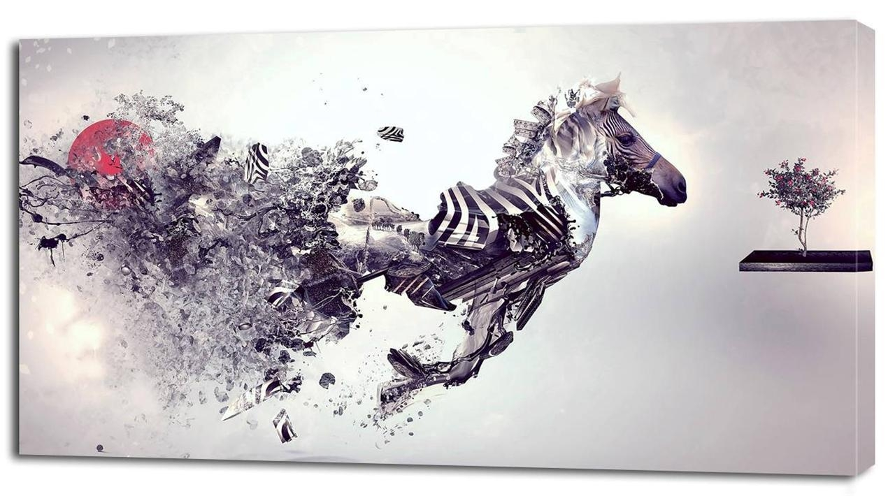 Wall Art And Canvas Prints | Wallartideas Intended For Zebra Wall Art Canvas (View 4 of 20)