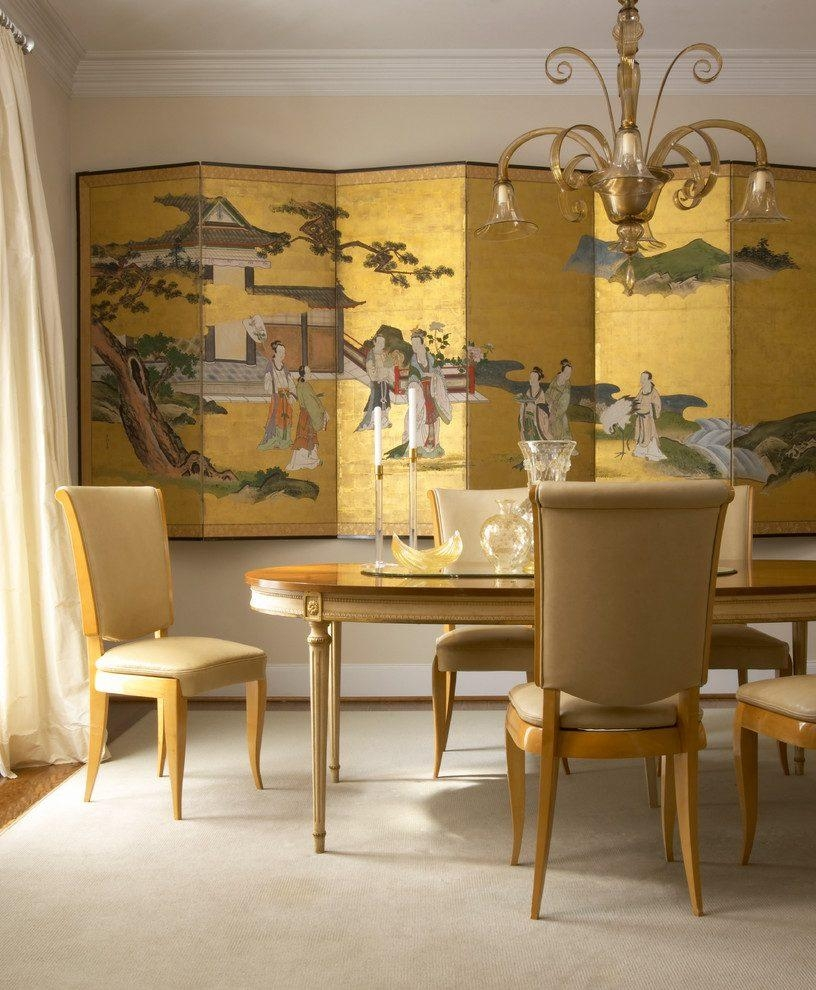 Wall Art Asian Panels Living Room Modern With Leather Bench Wool In Asian Wall Art Panels (Image 14 of 20)