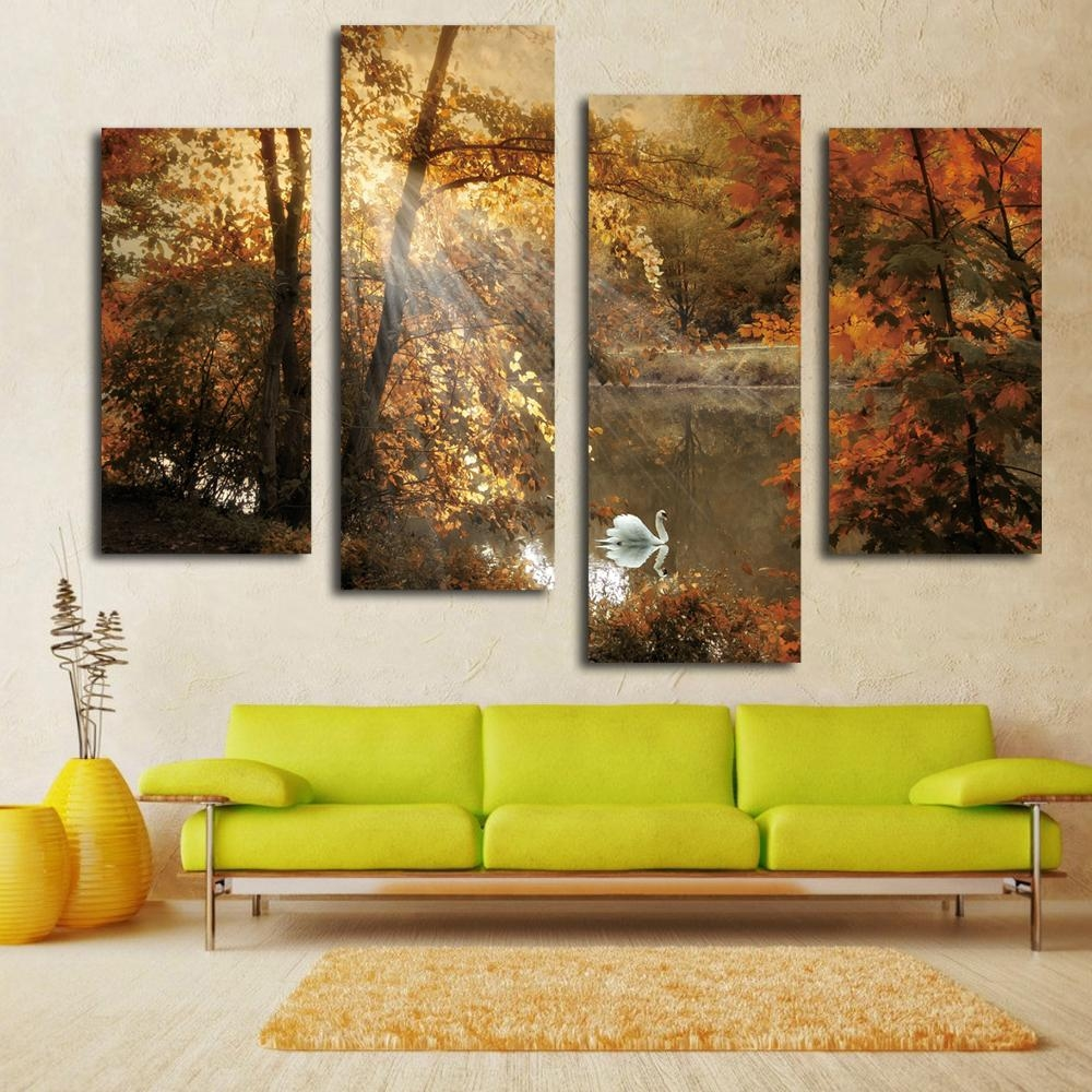 Wall Art: Astonishing Multi Panel Canvas Wall Art Multiple Canvas For Multiple Panel Wall Art (View 8 of 20)
