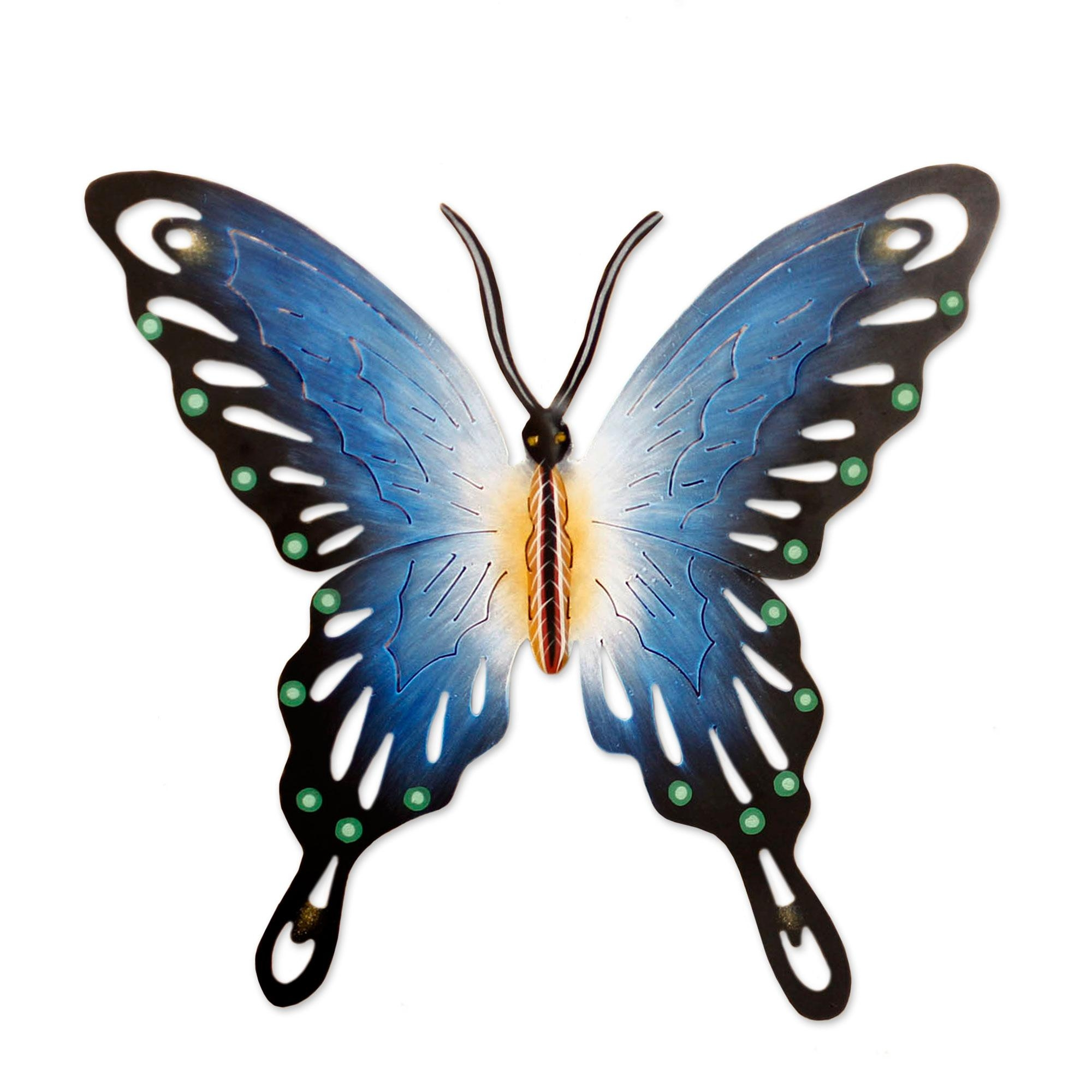 Wall Art At Novica Inside Ceramic Butterfly Wall Art (Image 20 of 20)