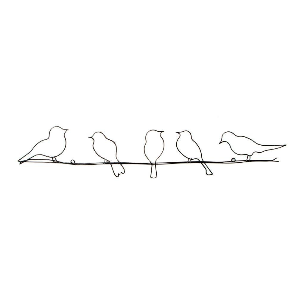 Wall Art ~ Bird Metal Wall Art Uk Silver Metal Birds Wall Art Regarding Flock Of Birds Metal Wall Art (View 5 of 20)