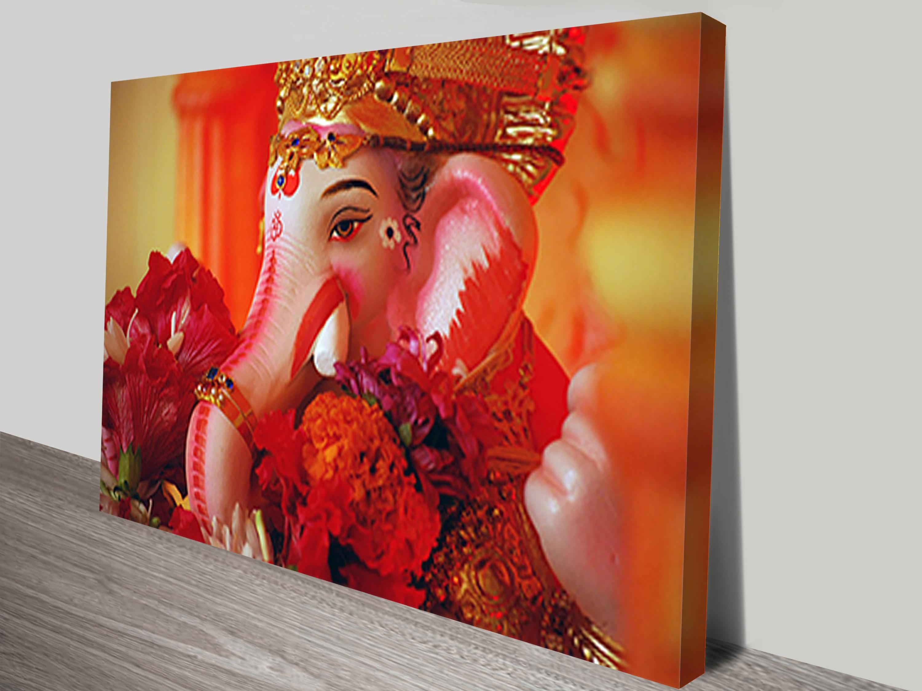 Wall Art Canvas Pertaining To Ganesh Wall Art (View 3 of 20)