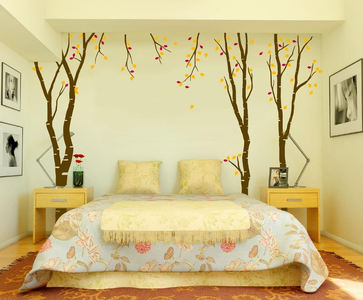Wall Art Decals For Bedroom (Photos And Video) | Wylielauderhouse Inside Wall Art For Bedrooms (View 4 of 21)