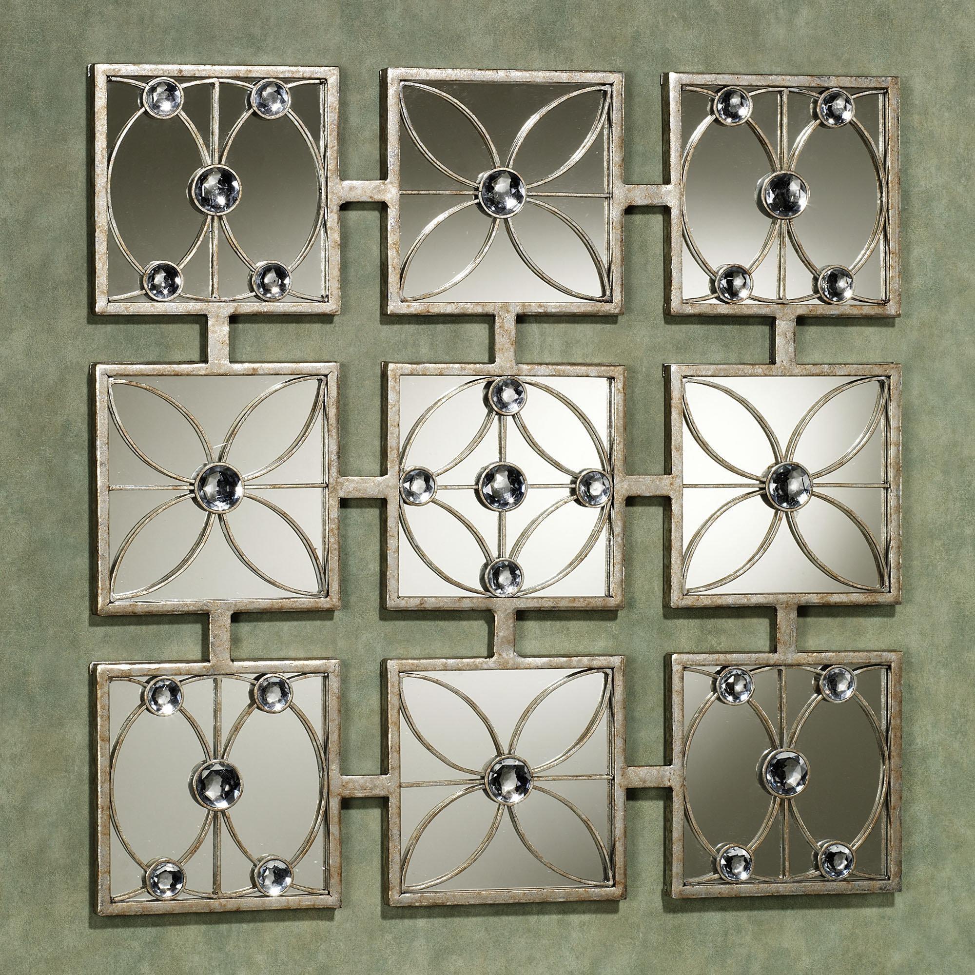 Wall Art Decor: Best Home Mirrored Wall Art Design Ideas Inside Modern Mirrored Wall Art (Image 16 of 20)