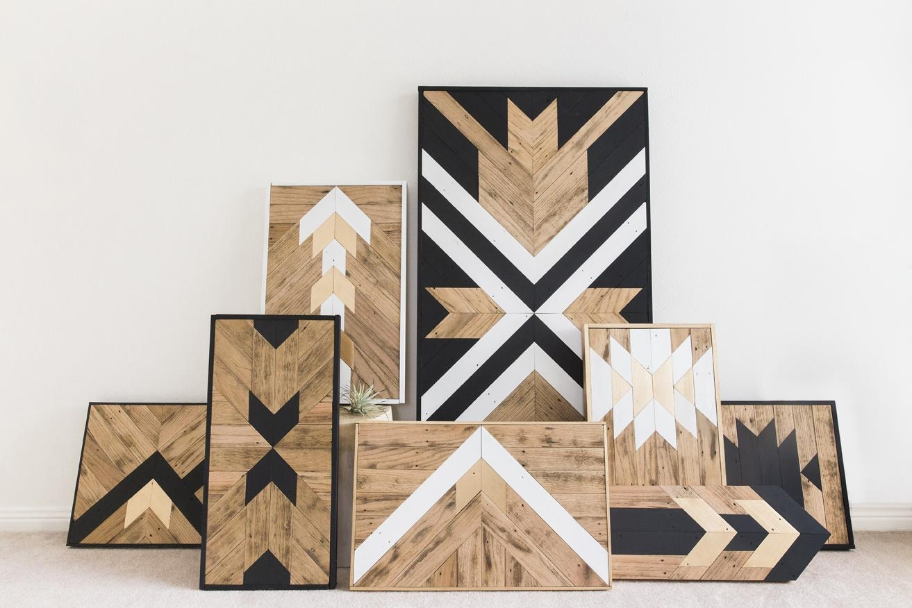 Wall Art Design Ideas: Land Unique Wood Wall Art Classic Reclaimed With Unique Modern Wall Art (Image 14 of 20)