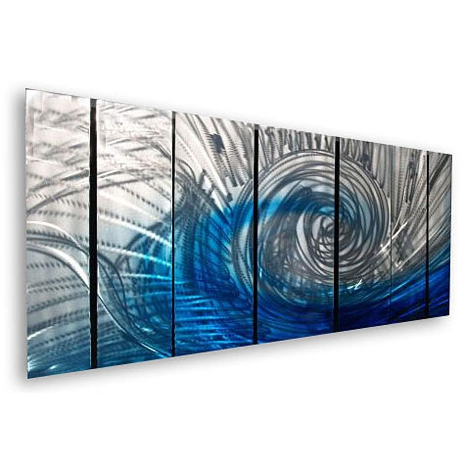 Wall Art Designs: Abstract Wall Art Waveash Carl 7 Piece Within 7 Piece Canvas Wall Art (Image 15 of 22)