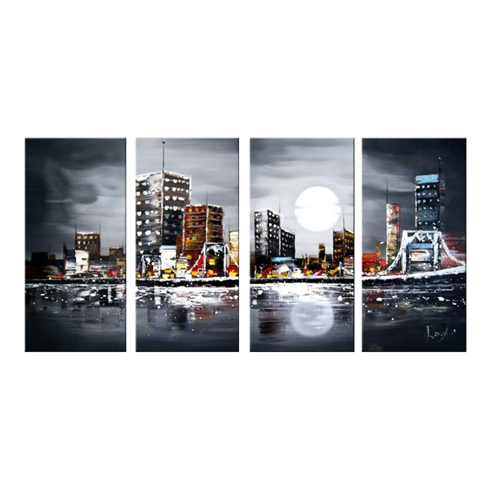 Featured Image of Cityscape Canvas Wall Art