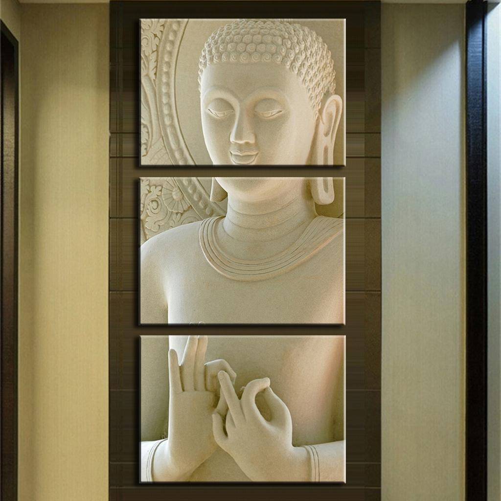Wall Art Designs: Awesome Gallery Wall Art Online With Best Deals Pertaining To Buddha Wood Wall Art (Image 14 of 20)