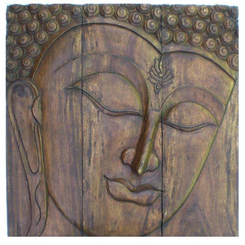 Wall Art Designs: Best Buddha Wood Wall Art Buddha Outdoor Wall Within Buddha Wood Wall Art (Image 16 of 20)