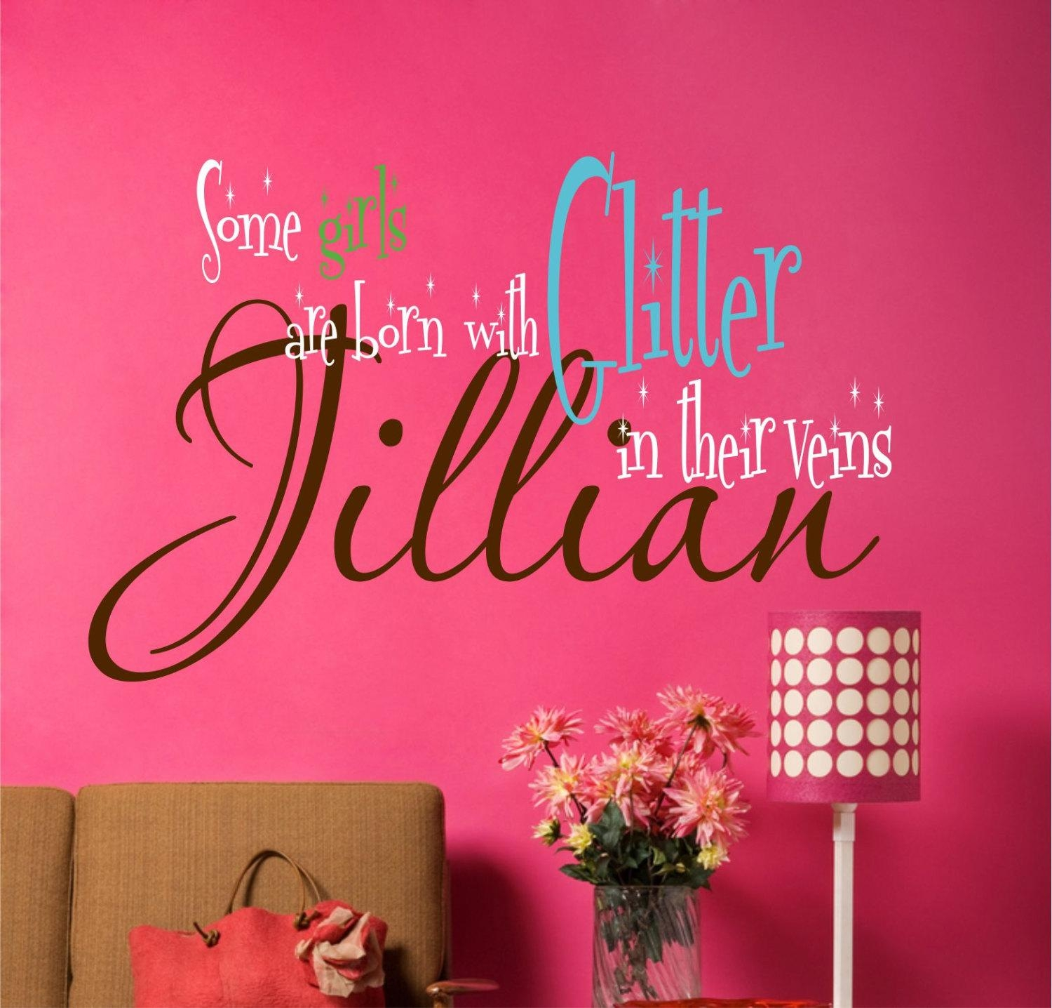 Wall Art Designs: Best Designed Teenage Girl Wall Art With Cutest Throughout Wall Art For Teens (Image 18 of 20)