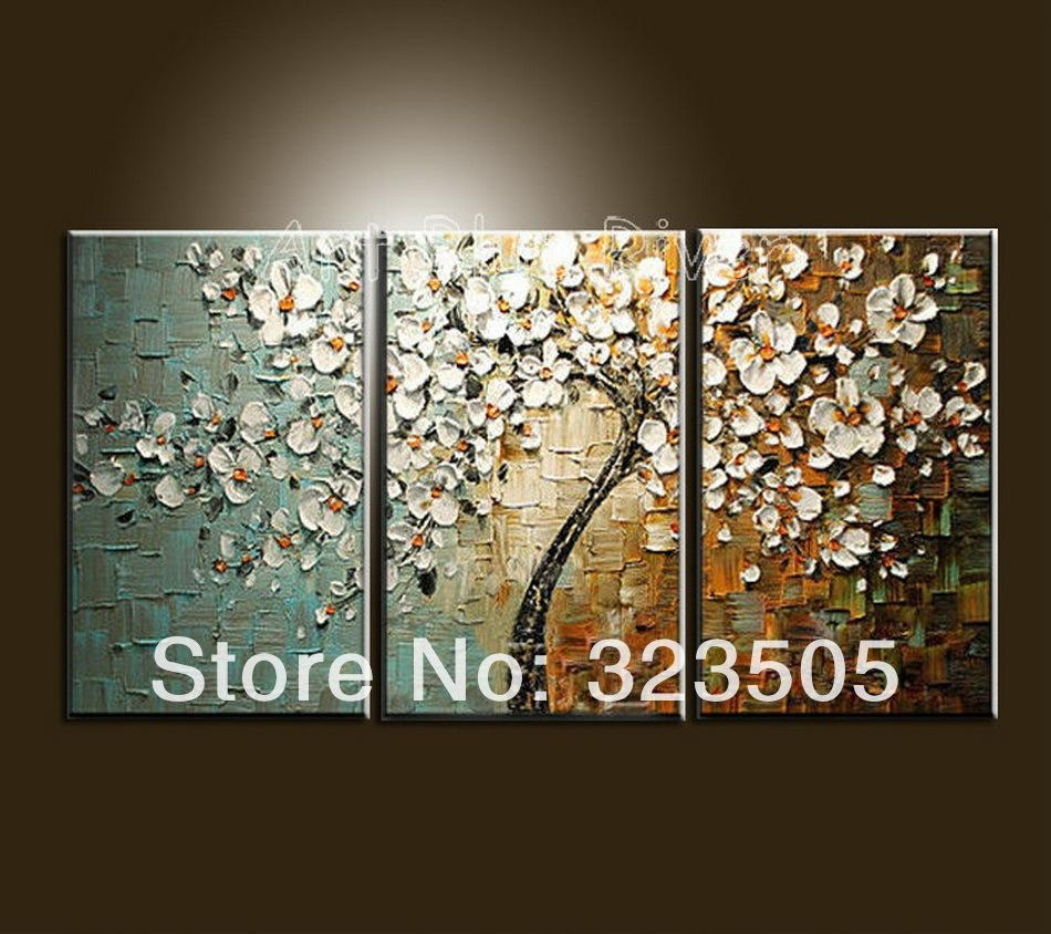 Wall Art Designs: Best Paintings 3 Piece Canvas Wall Art Sets For With  Regard To