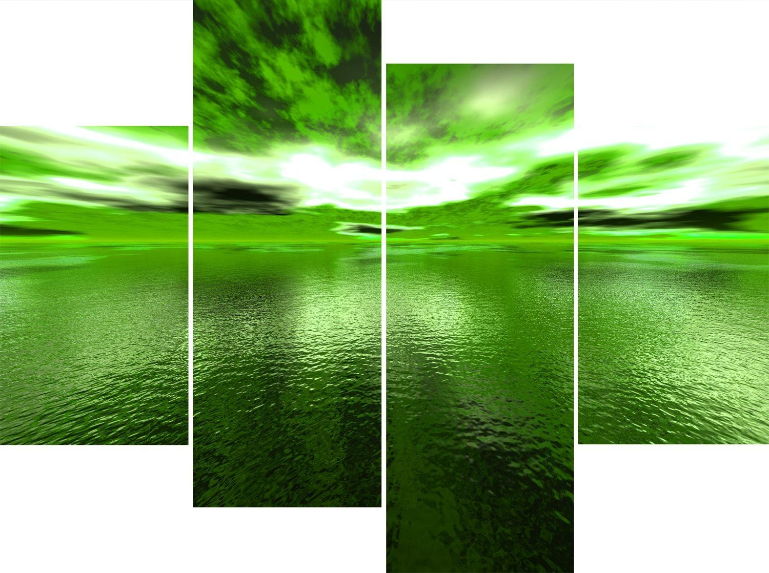 Wall Art Designs: Cool High Pixel Green Canvas Wall Art With Best Regarding Large Green Wall Art (View 6 of 20)