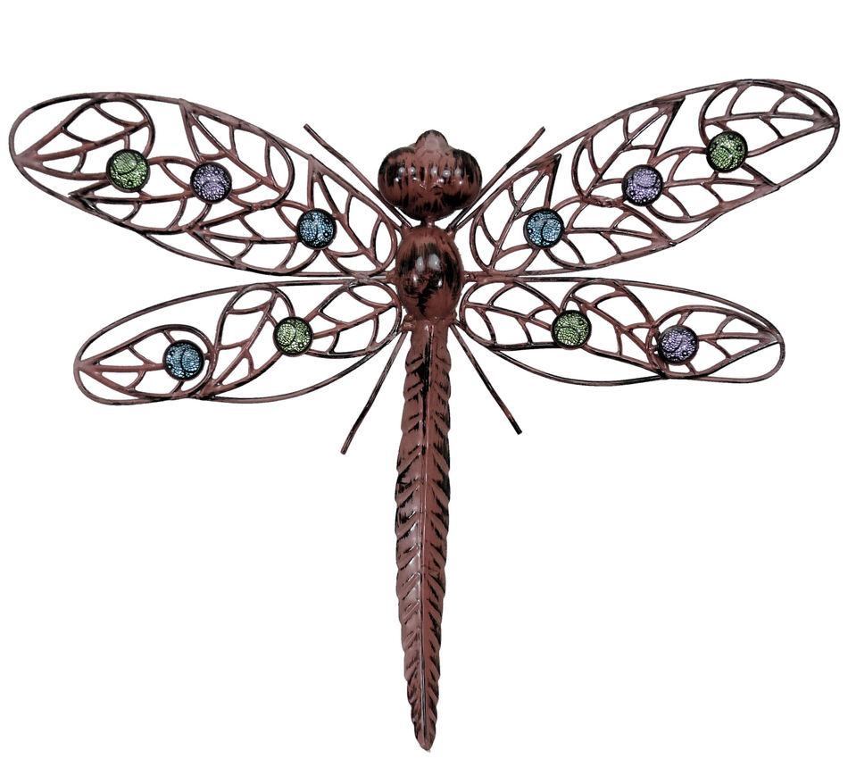 Wall Art Designs: Dragonfly Wall Art Metal Wal Art Hanging For Large Garden Wall Art (View 14 of 20)
