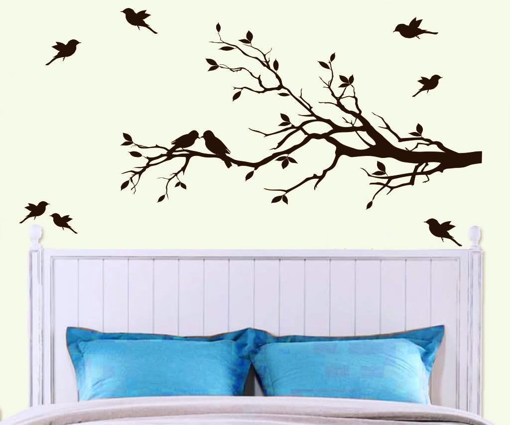 Wall Art Designs: Inspirational Trees Wall Art New Concept Metal Regarding Painted Trees Wall Art (Image 20 of 20)