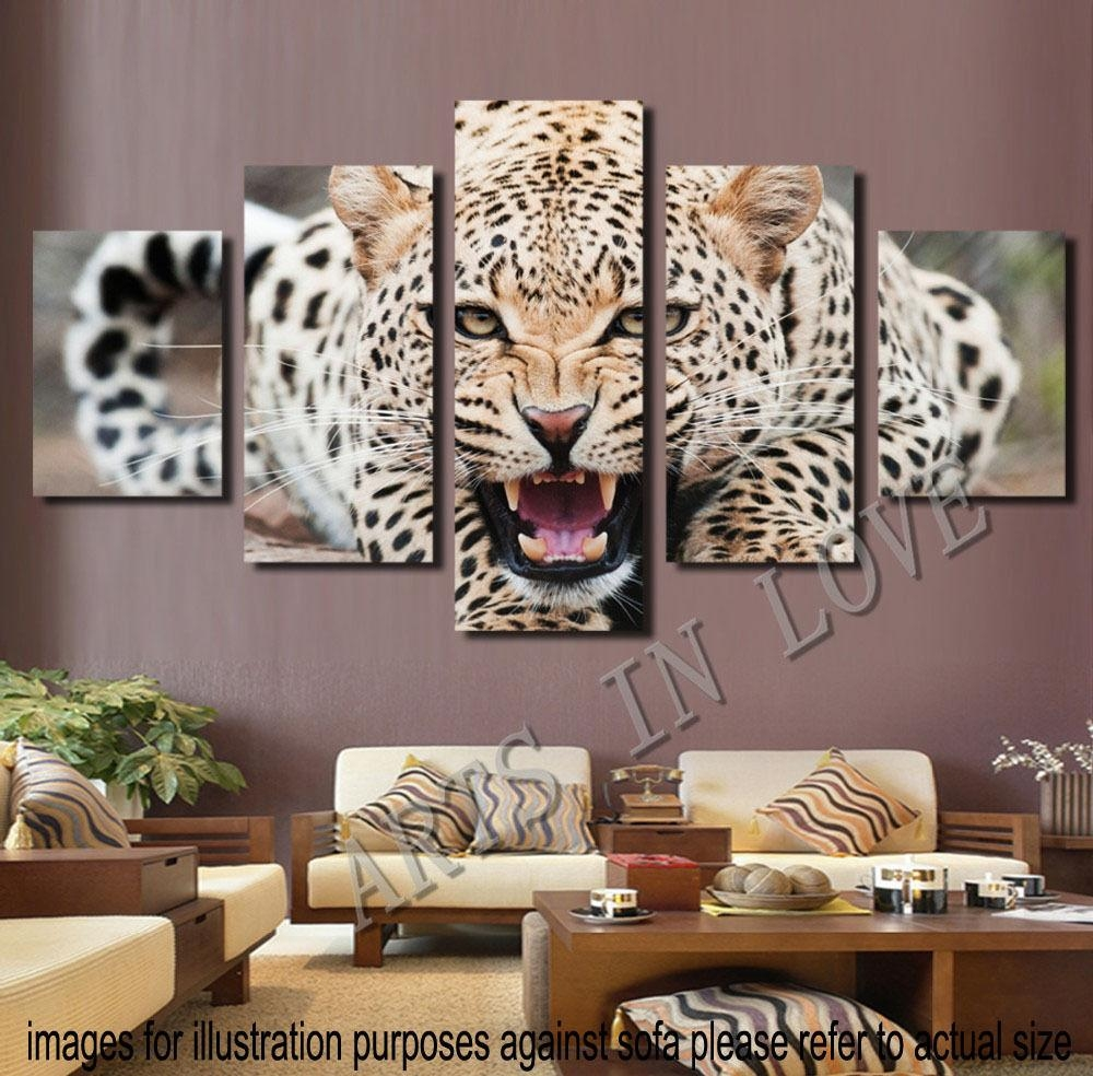Wall Art Designs: Marvelous Natural Animal Print Canvas Wall Art Intended For Bedroom Framed Wall Art (Image 17 of 20)