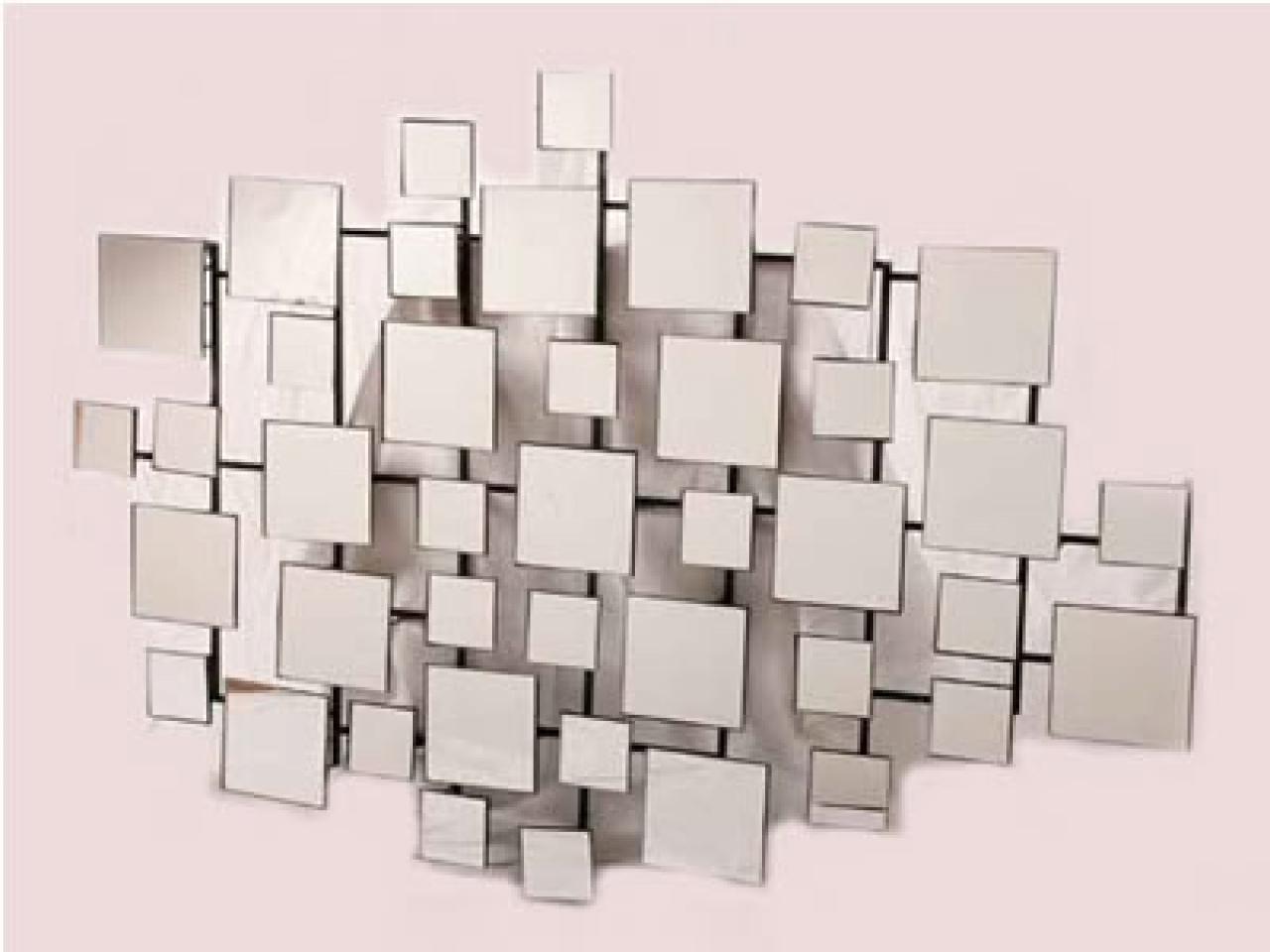 Wall Art Designs: Mirrored Wall Art Geometric Mirror Wall Art With Regard To Modern Mirrored Wall Art (Image 18 of 20)