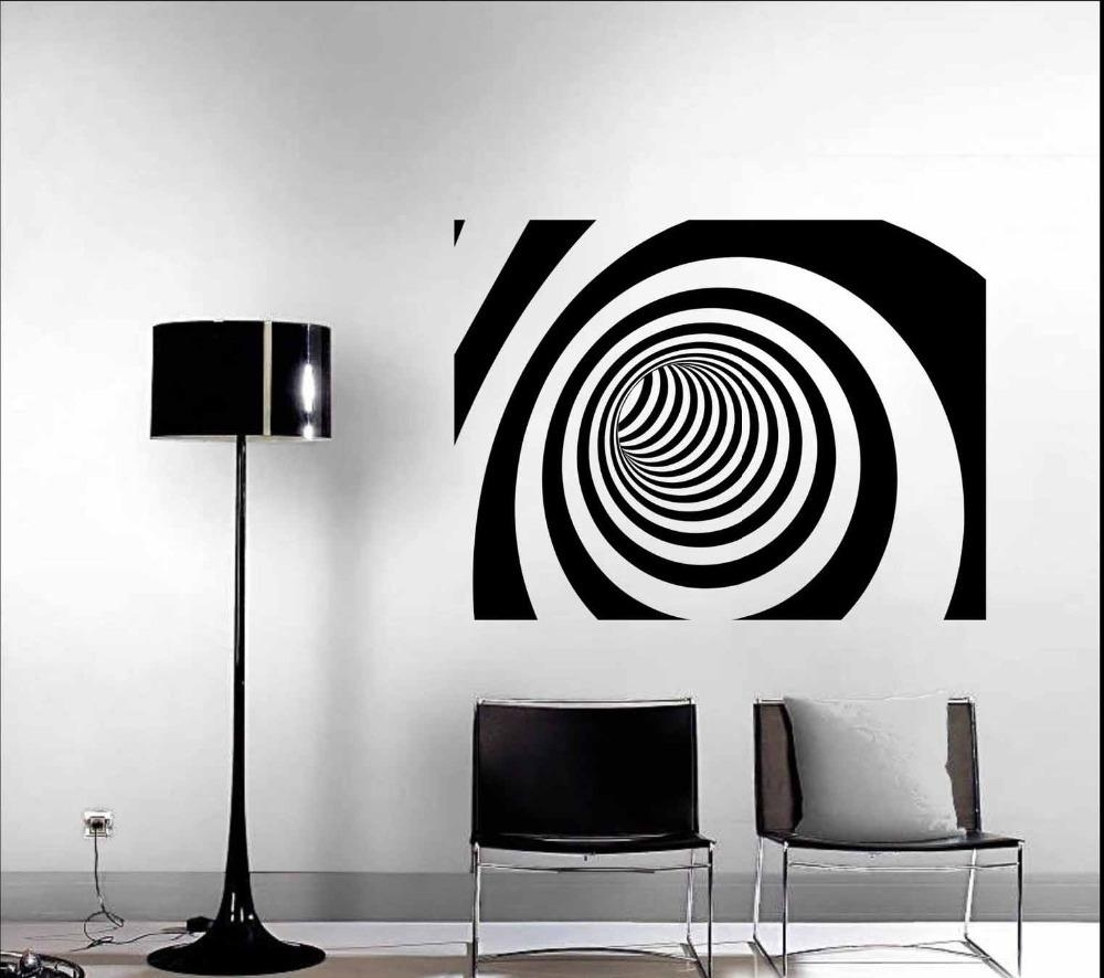 Wall Art Designs: Modern Wall Art Decor 3D Abstract Vinyl Wall Intended For Modern Vinyl Wall Art (View 17 of 20)
