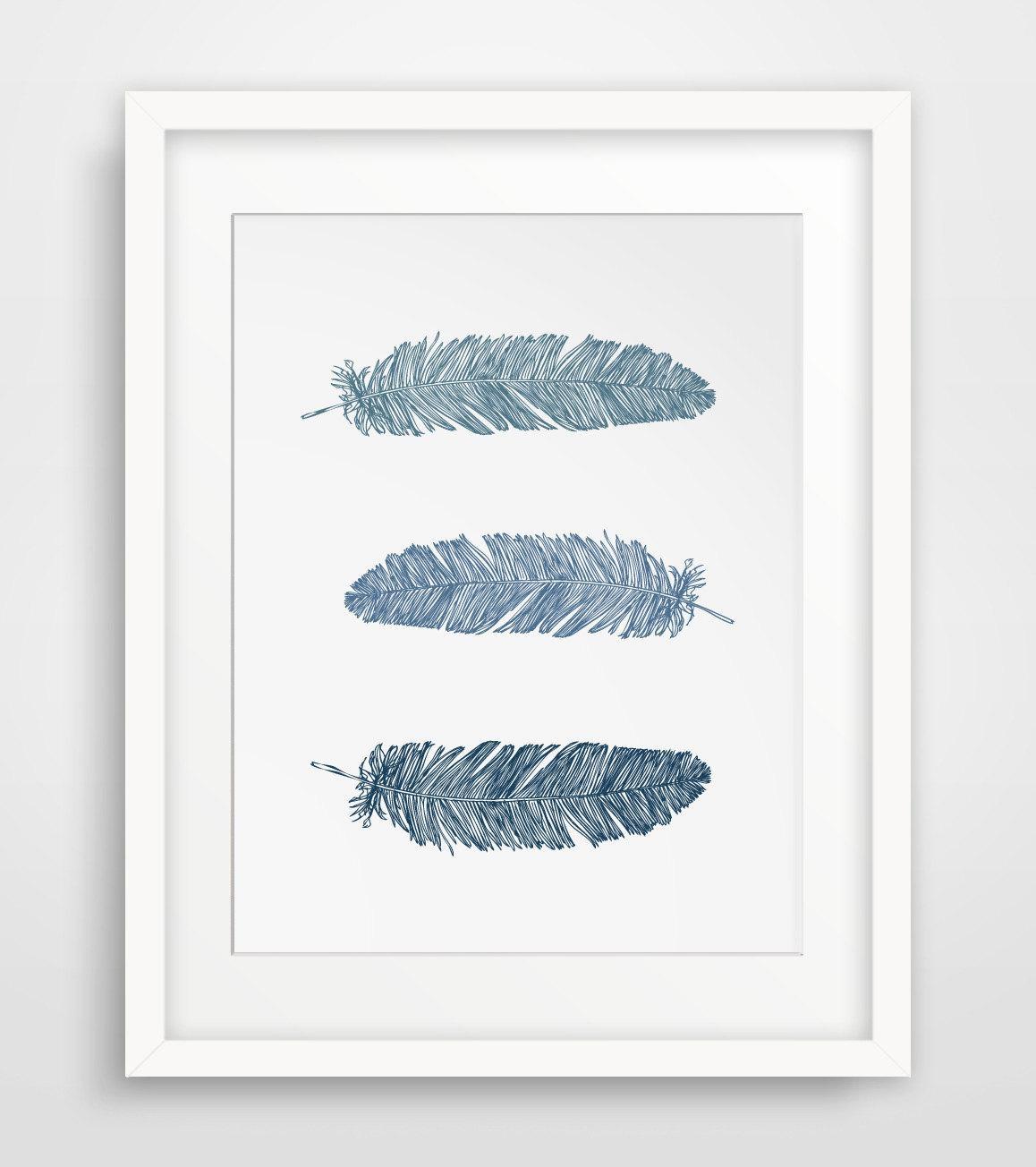 Wall Art Designs: Printable Wall Art Follow Your Dreams Black Regarding Blue Wall Art (View 11 of 20)