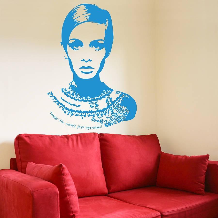 Wall Art Designs: South Africa Twiggy Wall Art Vinyl Sa Studios My With Twiggy Vinyl Wall Art (Image 20 of 20)