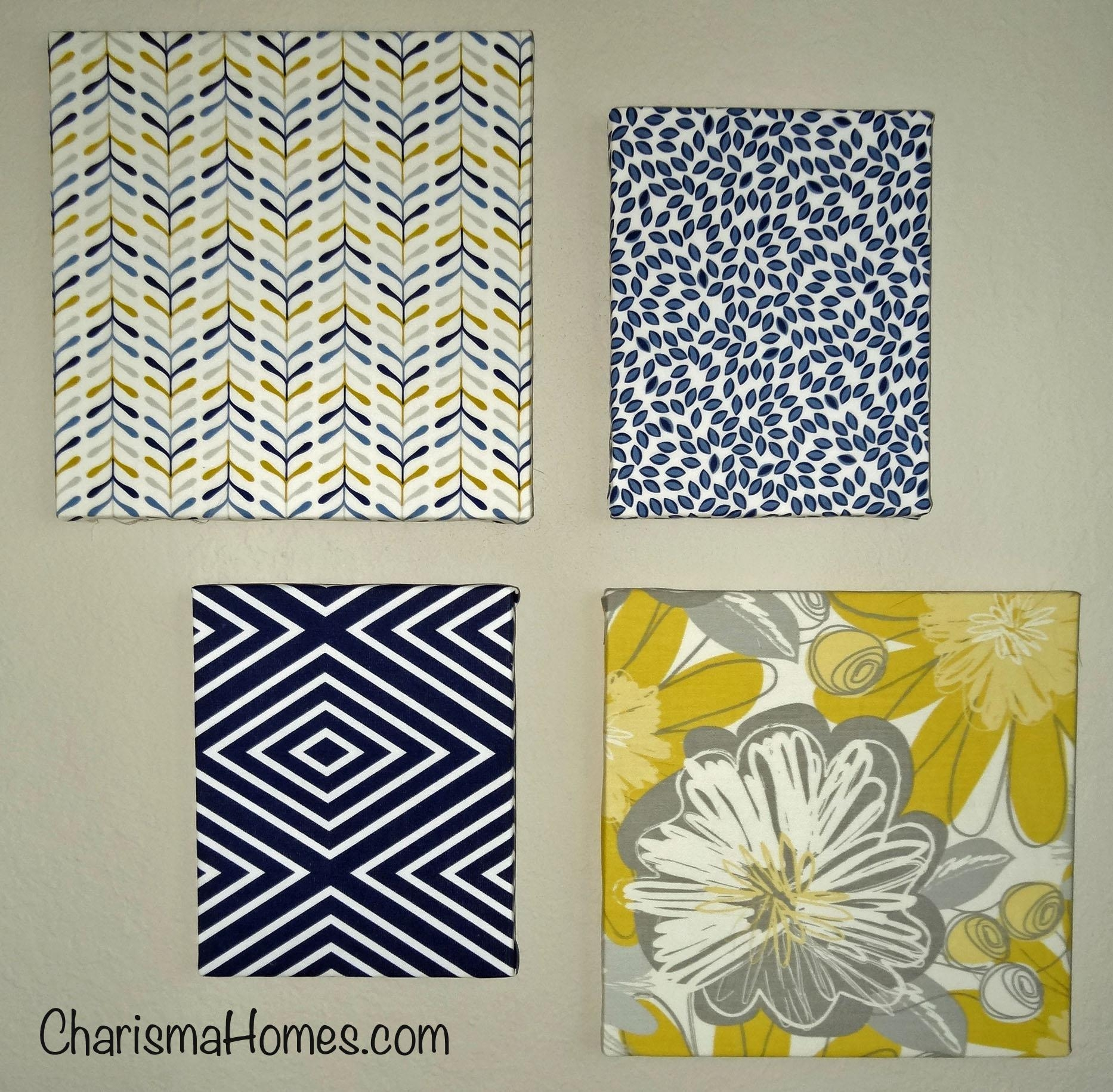 Wall Art Designs: Terrific Fabric Covered Canvas Wall Art Simple Regarding Fabric Canvas Wall Art (Image 20 of 20)