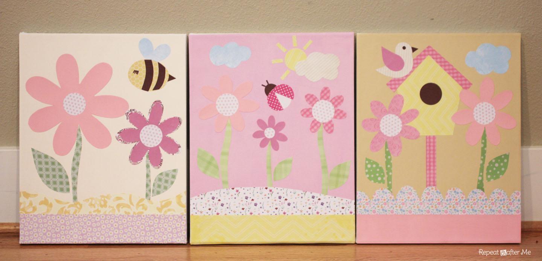 Wall Art Designs: Top 10 Cute Little Girl Canvas Wall Art Design Intended For Little Girl Wall Art (View 11 of 20)