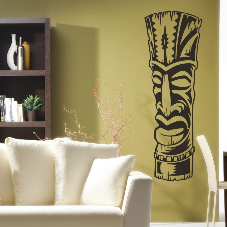 Dorable Tiki Wall Decor Sketch - Art & Wall Decor - hecatalog.info