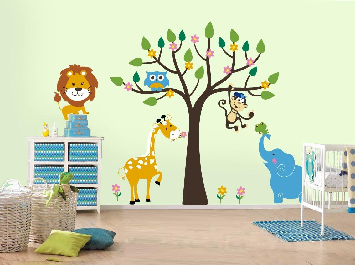 Wall Art Designs: Top Wall Art Stickers Childrens Rooms Ikea Wall Intended For Wall Art Stickers For Childrens Rooms (View 3 of 20)