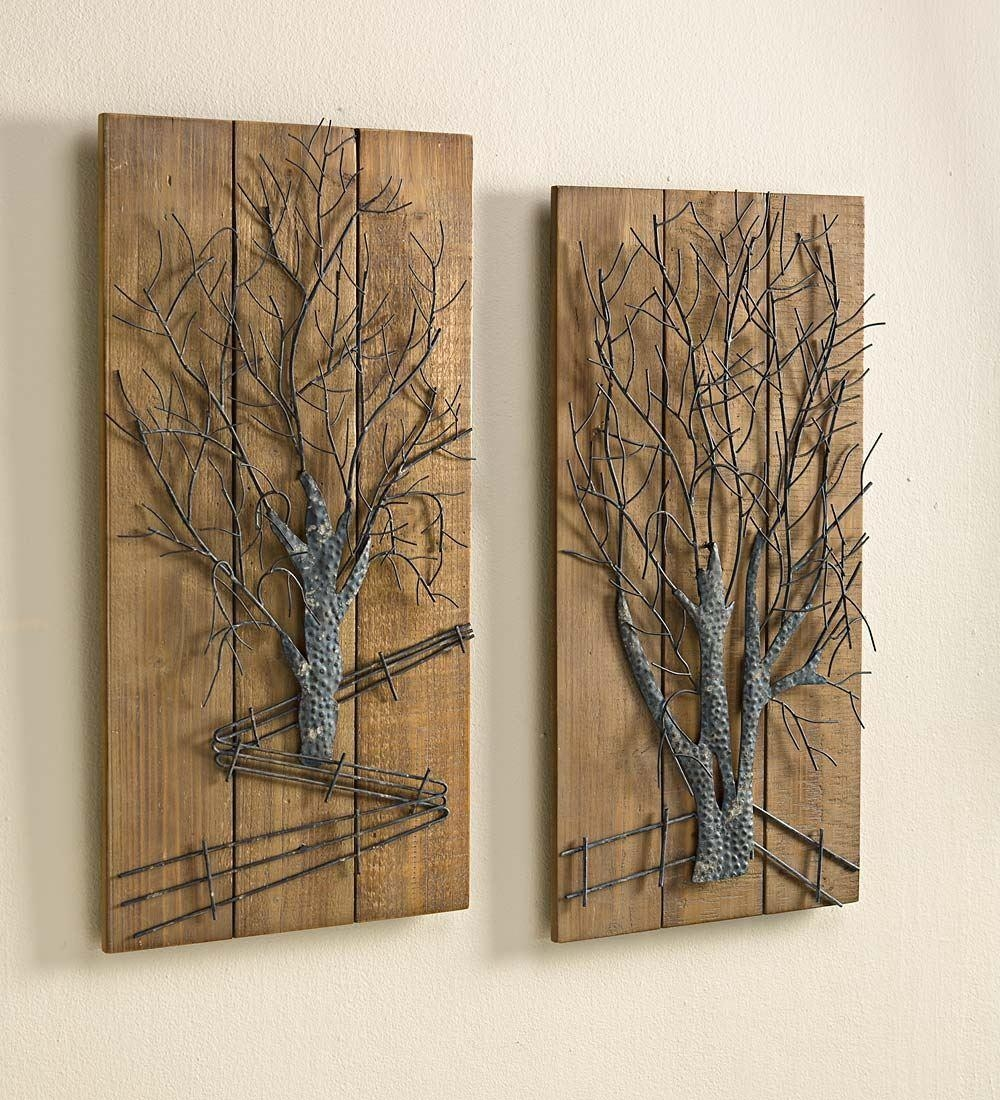 Wall Art Designs: Wood And Metal Wall Art Hammered Metal Wood Wall Inside Hammered Metal Wall Art (Image 16 of 20)