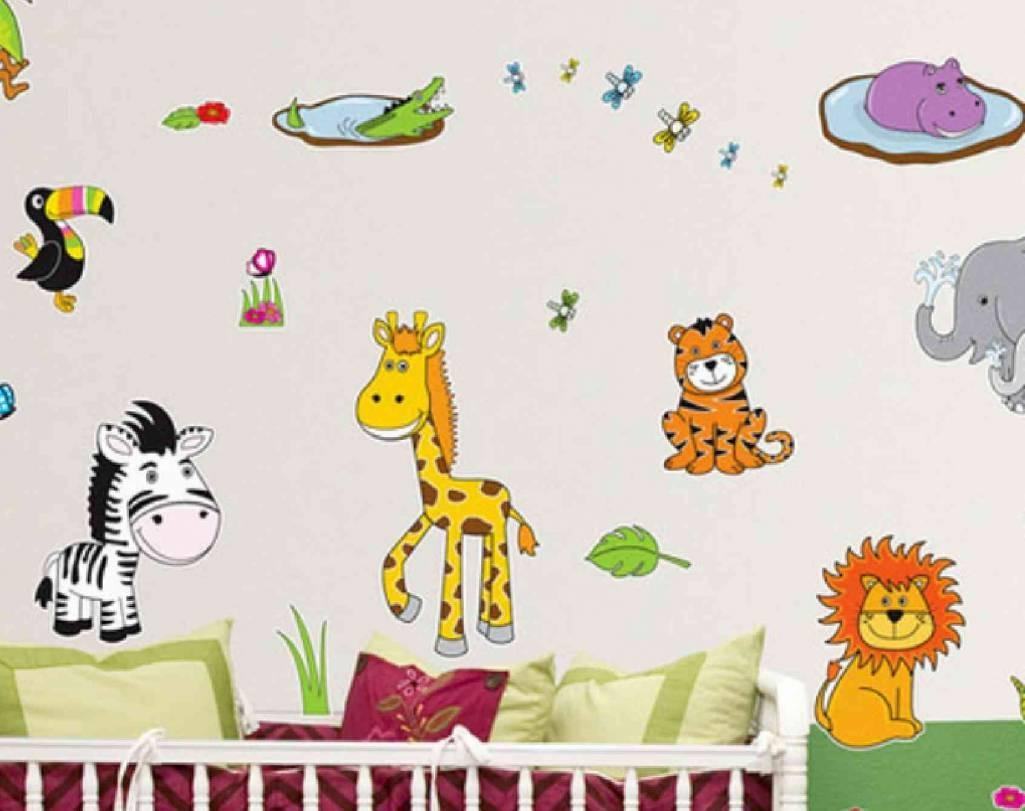Wall Art For Children's Bedroom Inside Wall Art Stickers For Childrens Rooms (View 19 of 20)