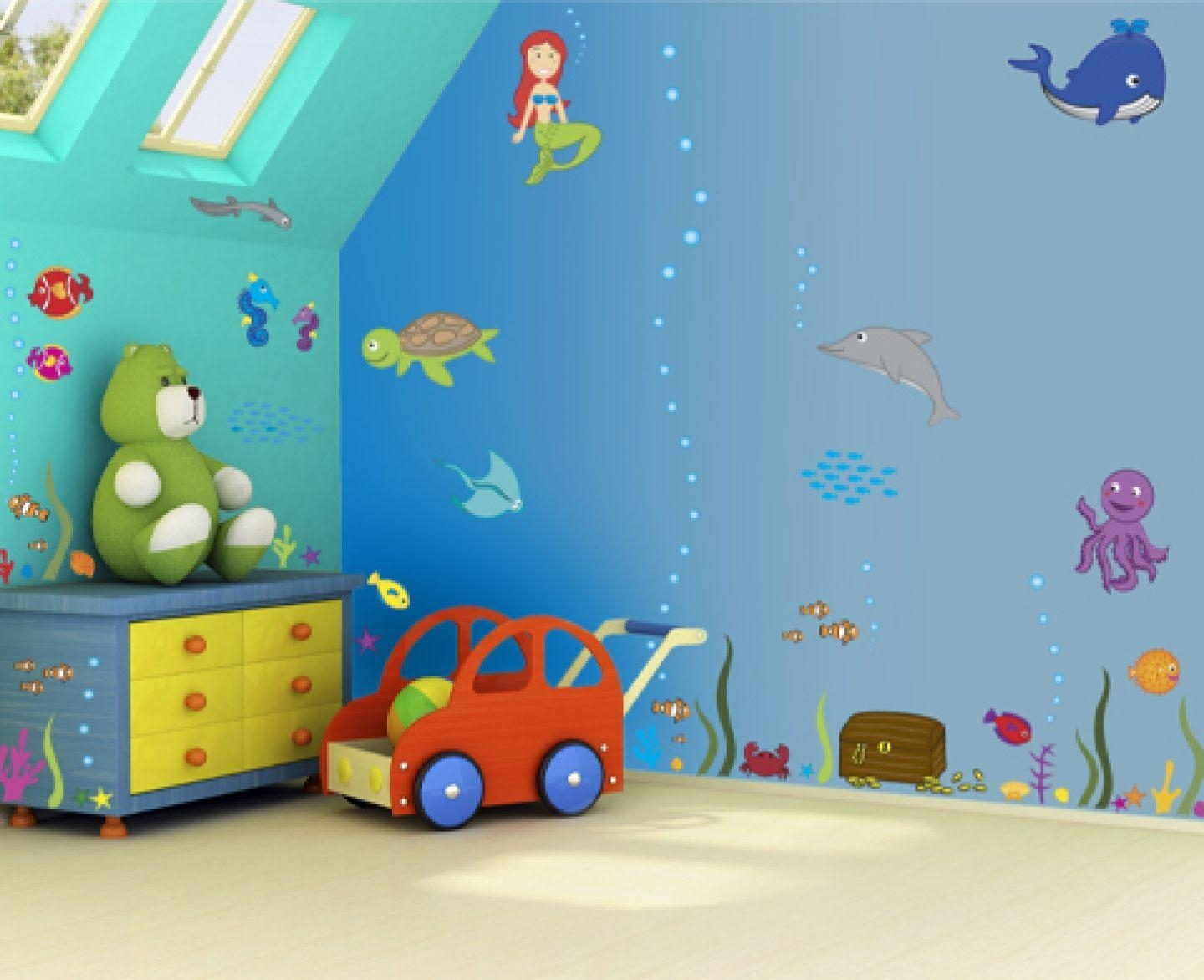 Wall Art For Kids' Bedrooms Enhancing The Family Togetherness Throughout Children Wall Art (View 20 of 20)