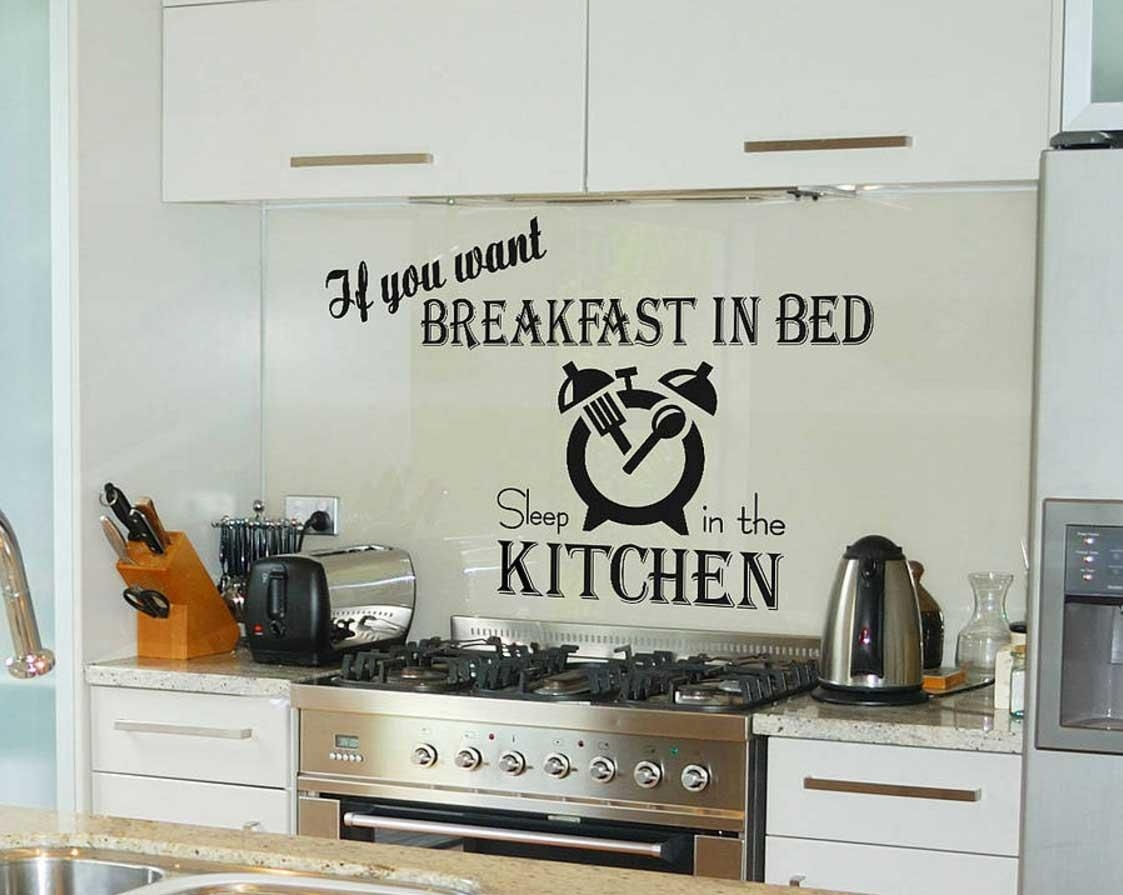 Wall Art For Kitchens Stickers Quotes | Home Interior & Exterior For Wall Art For Kitchens (View 2 of 20)