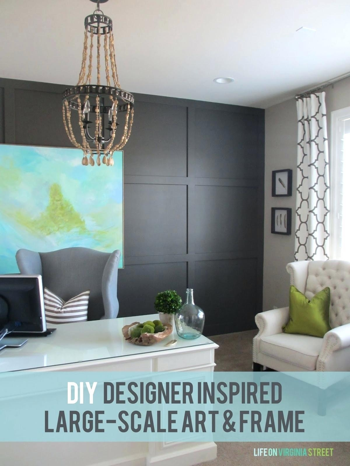 Wall Art For Office Inspiration Diy Large Canvas Artinspirational Throughout Large Inspirational Wall Art (View 15 of 20)