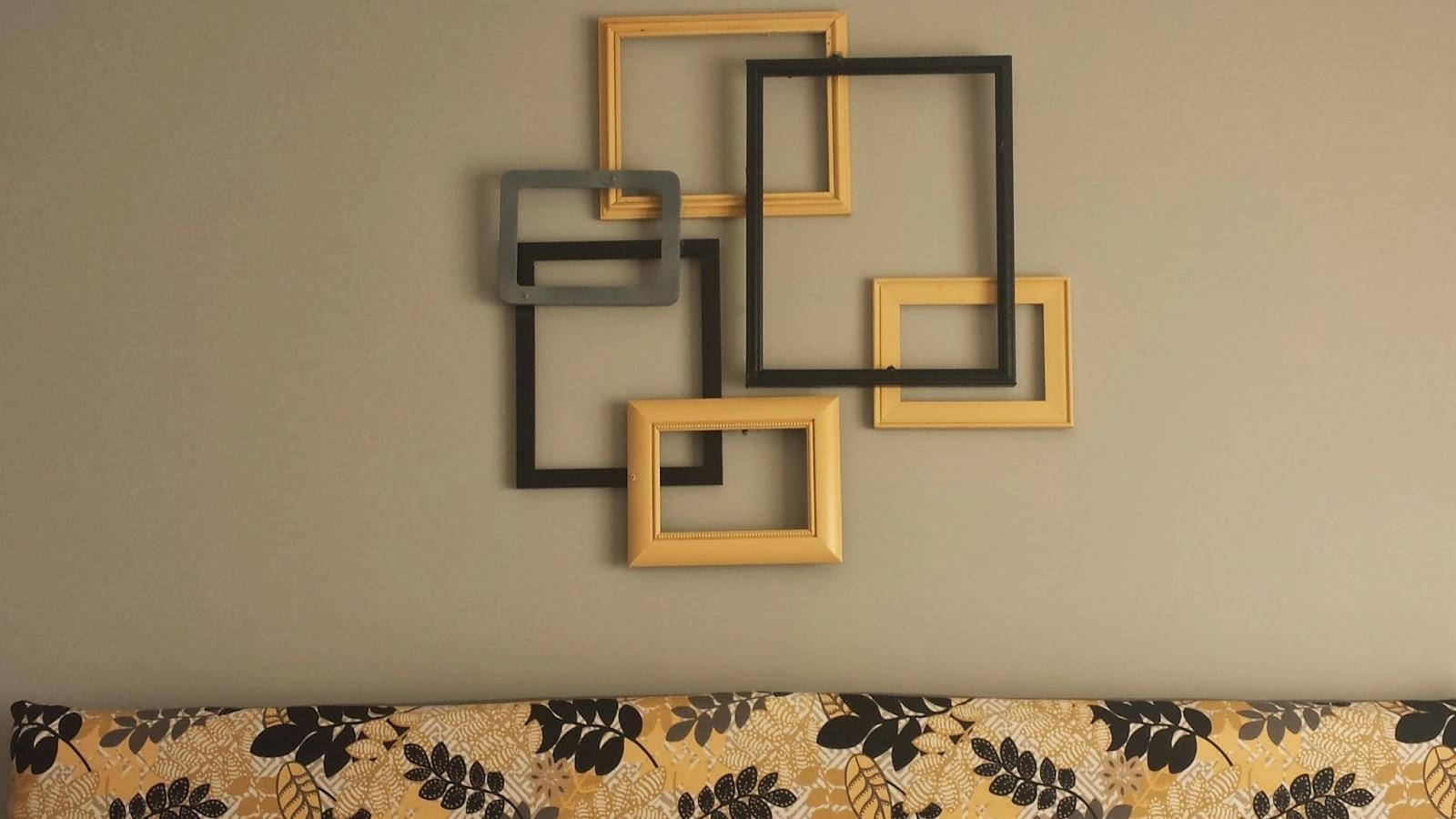 20 Best Collection Of Metal Framed Wall Art