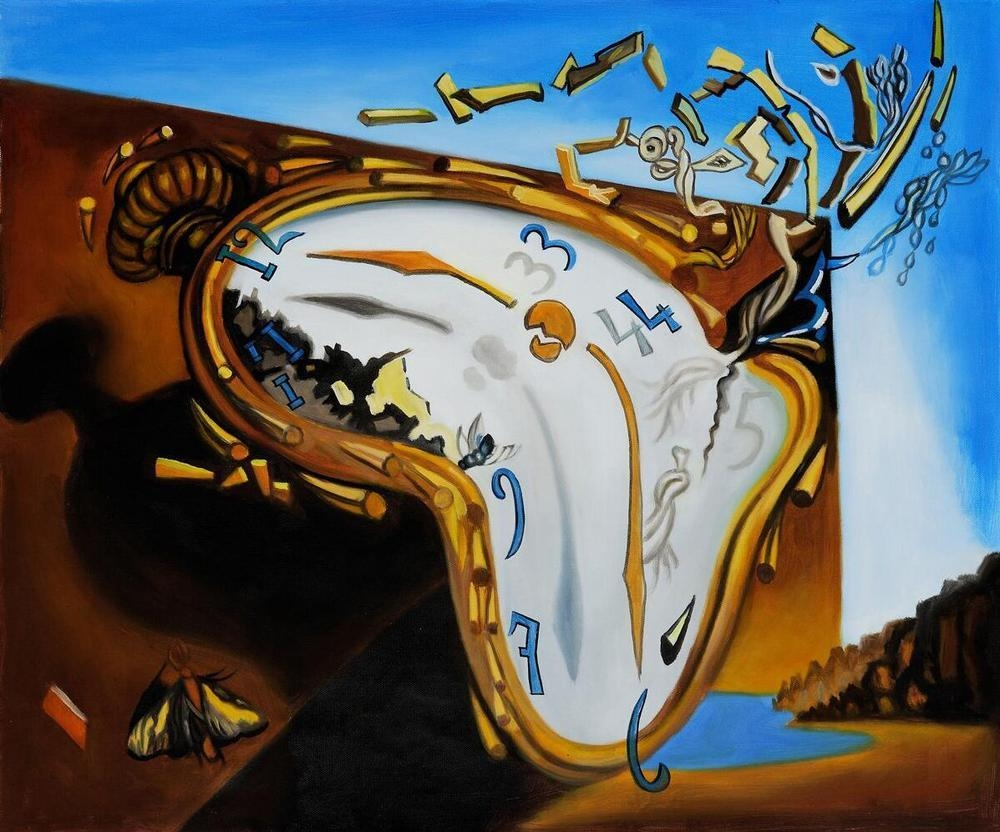 Wall Art Ideas Design : Awesome Dali Wall Art Sadali Wall Art For Salvador Dali Wall Art (Image 20 of 20)