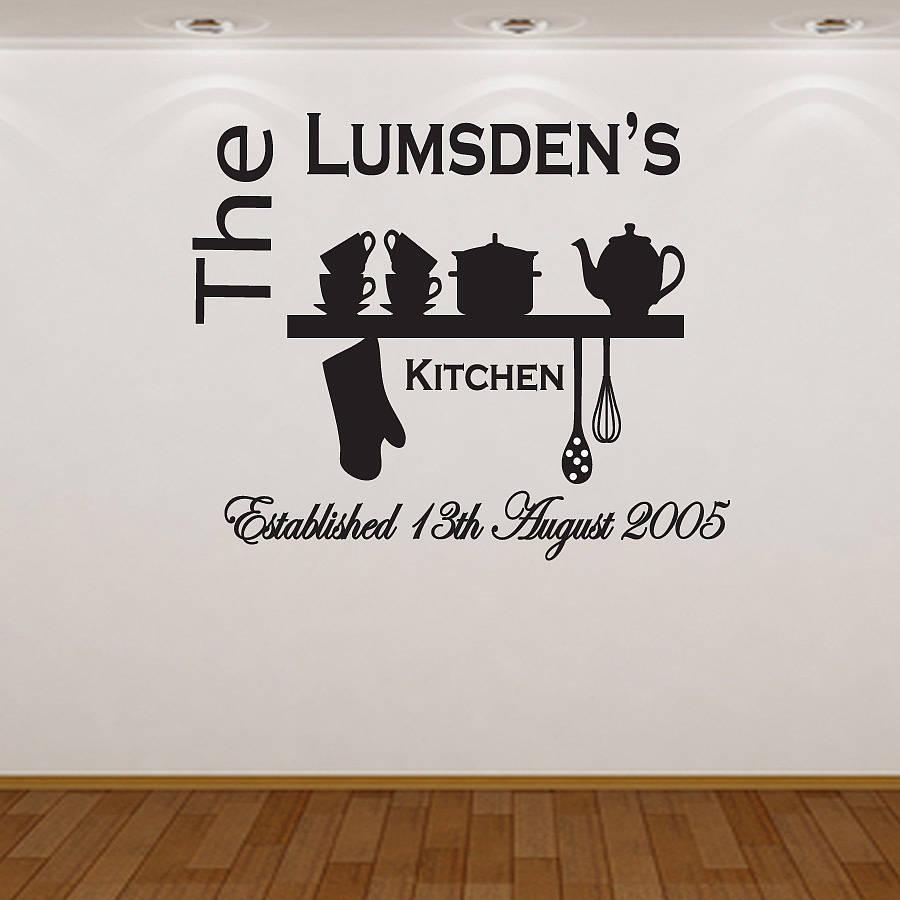Wall Art Ideas Design : Bamboo Letterings Wall Art For The Kitchen Within Cool Kitchen Wall Art (Image 12 of 20)