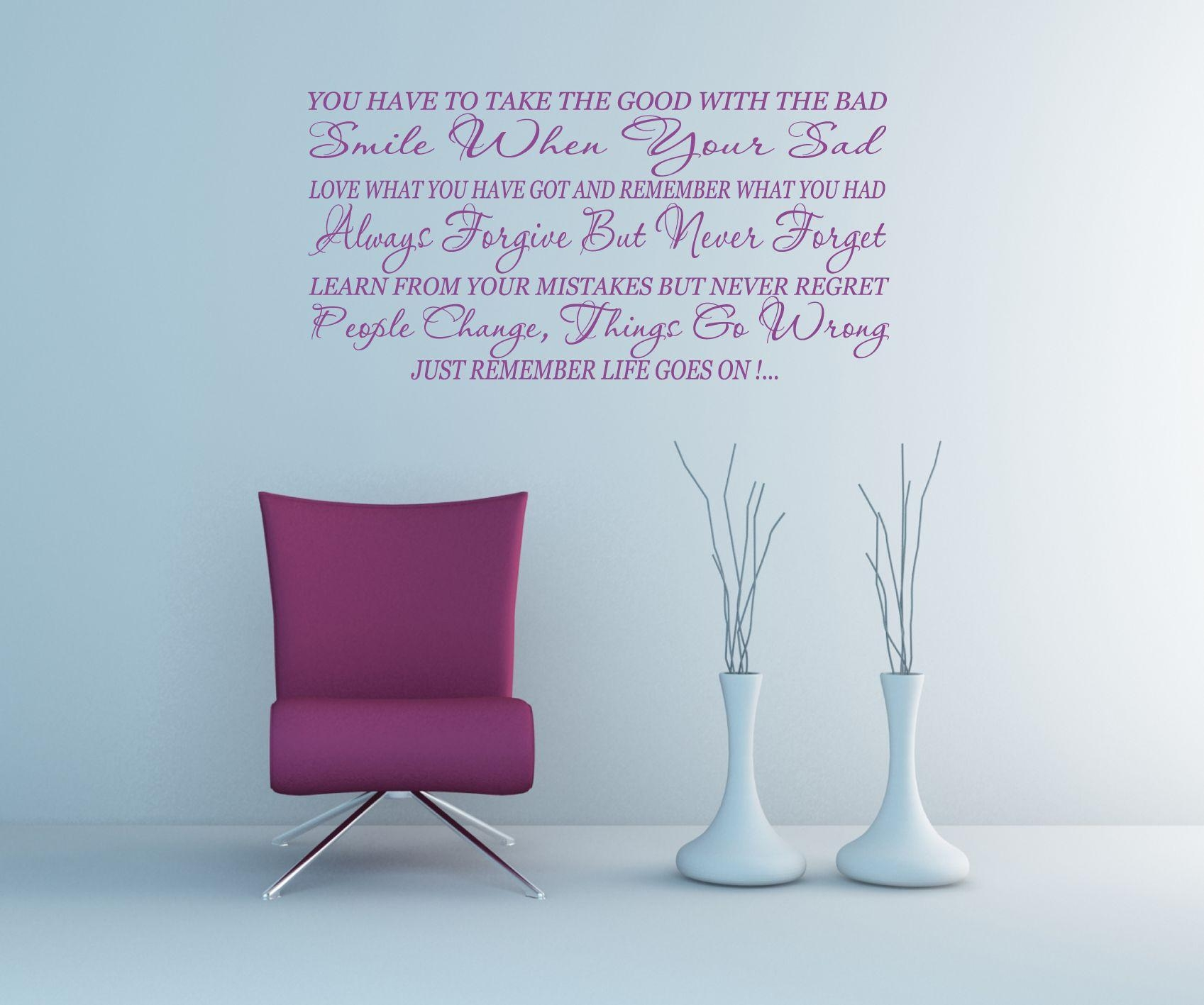 Featured Photo of Inspirational Sayings Wall Art