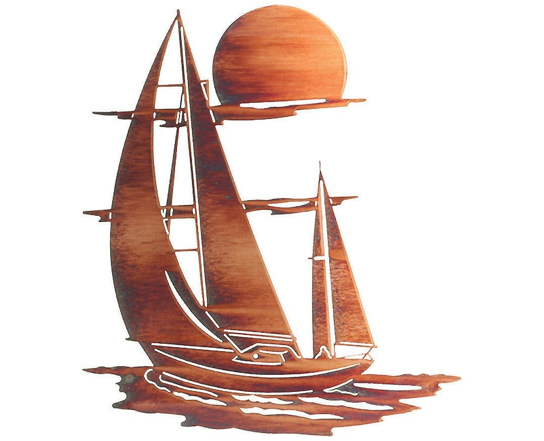 Wall Art Ideas Design : Directly From Sailboat Metal Wall Art Inside Sailboat Metal Wall Art (Image 17 of 20)