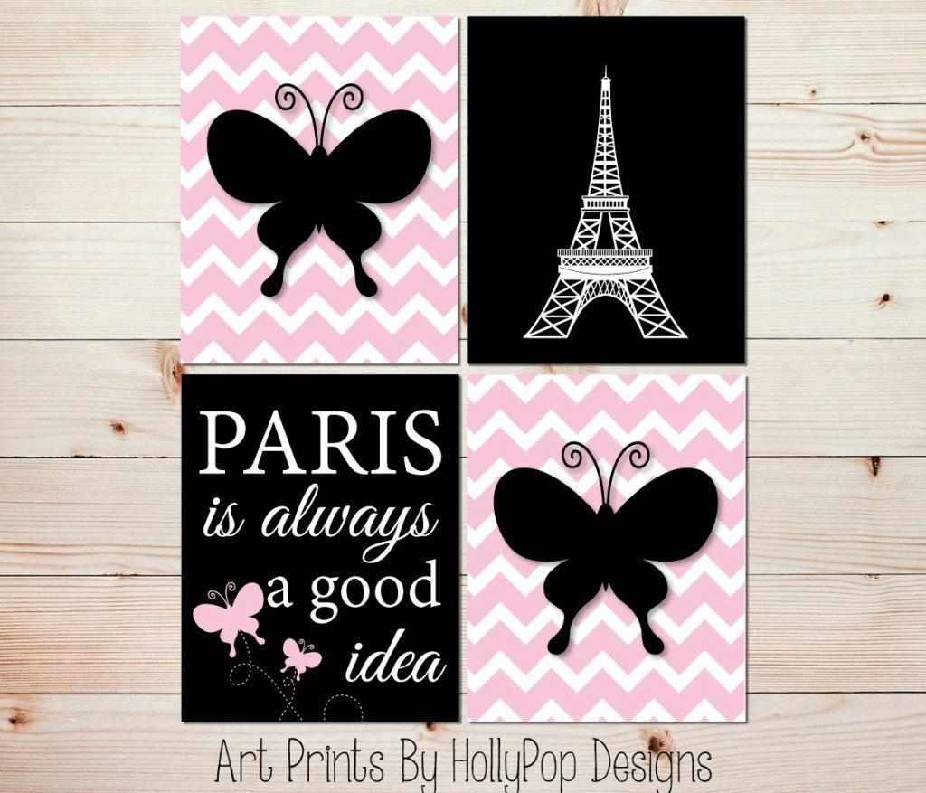 Wall Art Ideas Design : Hot Sexy Woman Paris Themed Wall Art With Regard To Paris Themed Stickers (View 2 of 20)