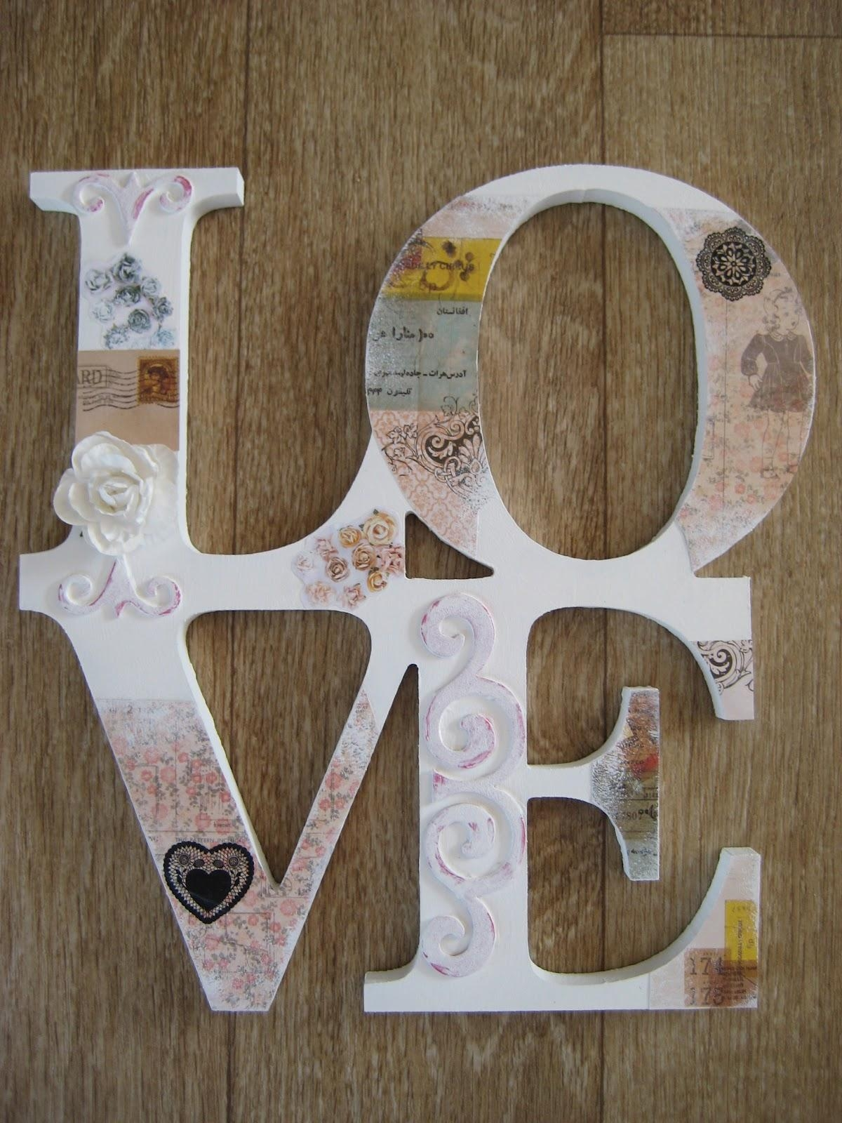Featured Photo of Decoupage Wall Art