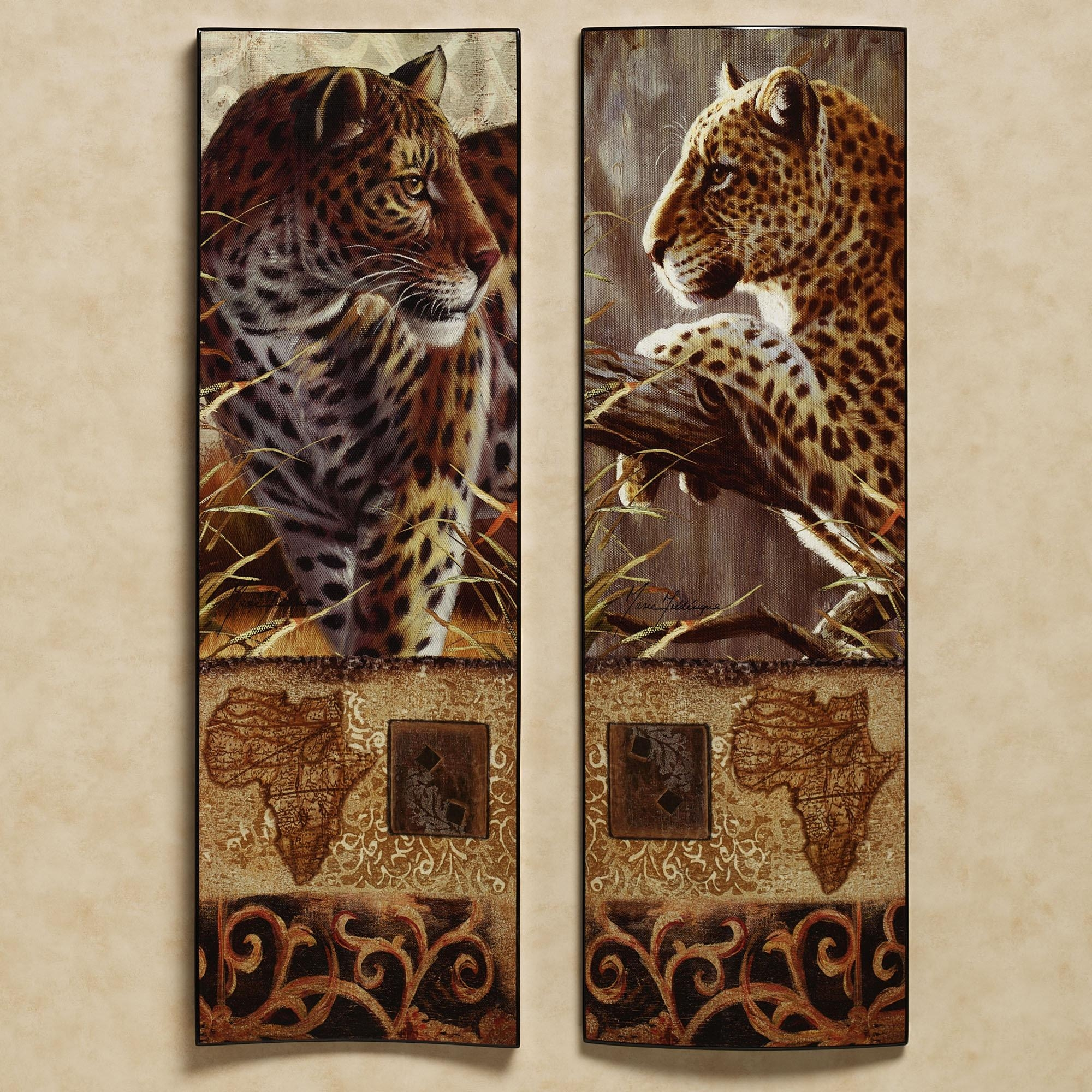 Wall Art Ideas Design : Impressions Of Animal Print Wall Art Intended For Leopard Print Wall Art (View 13 of 20)