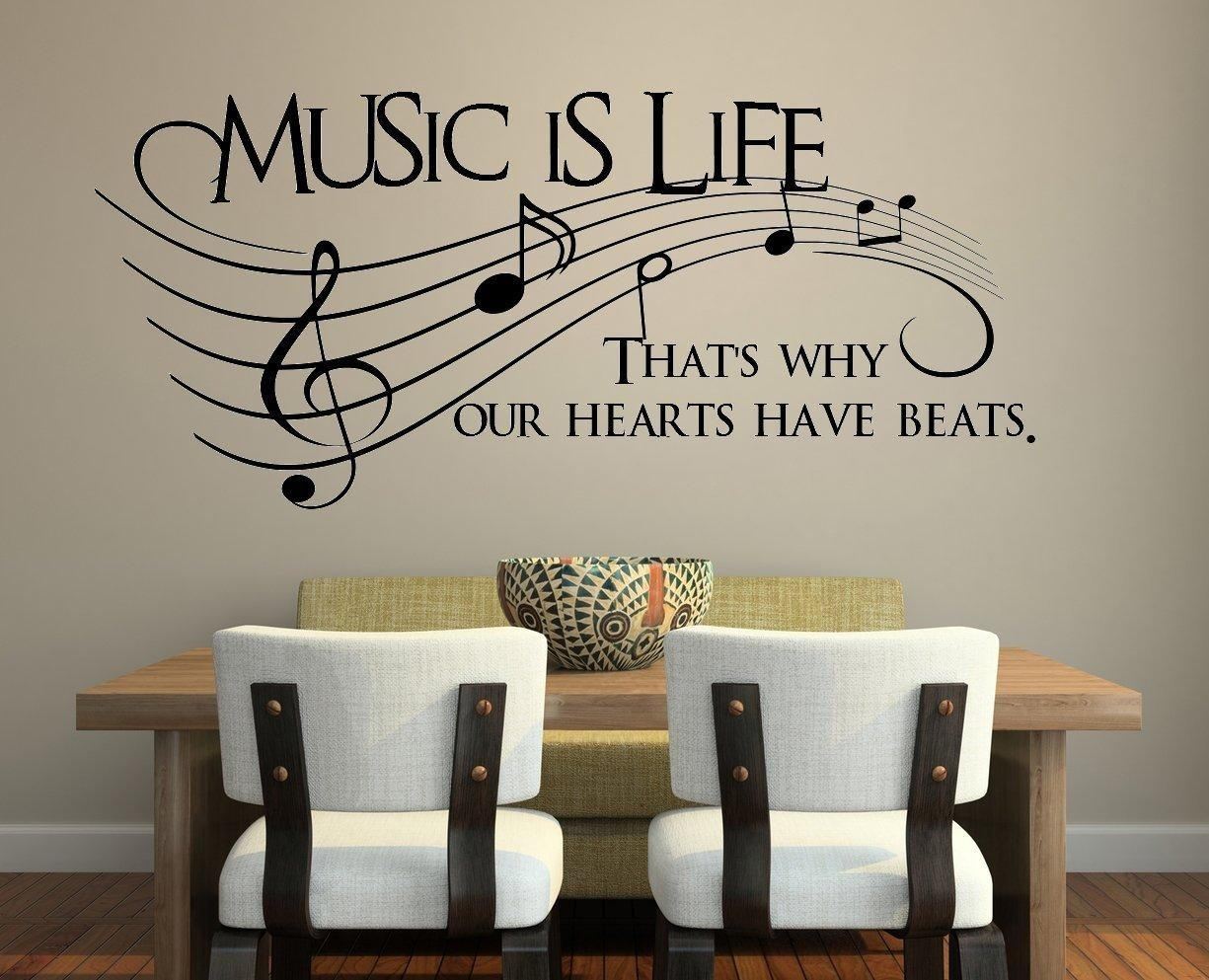 Featured Photo of Music Theme Wall Art