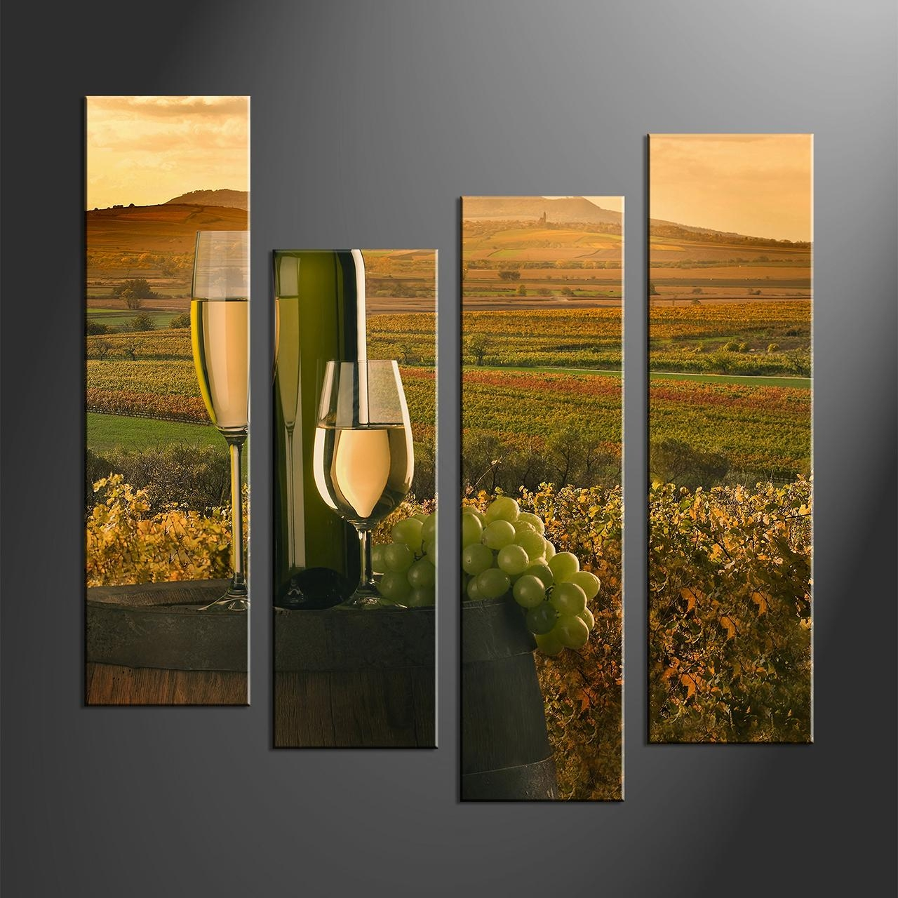 Wall Art Ideas Design : Matching Sets 4 Piece Wall Art Regarding Matching Wall Art Set (Image 12 of 20)