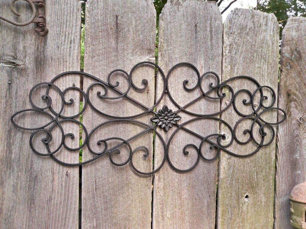 Wall Art Ideas Design : Outdoors Kristan Designs Wrought Iron Wall Within Wrought Iron Tree Wall Art (Image 15 of 20)