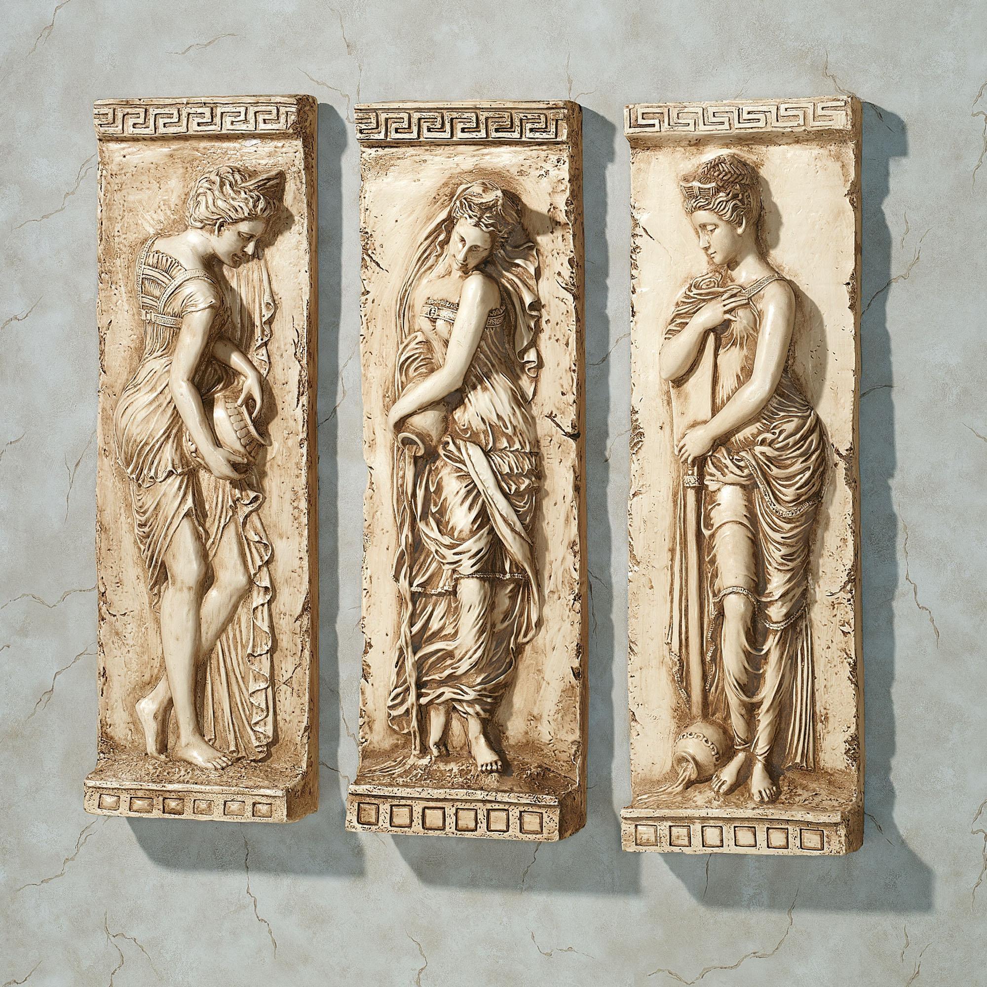 Wall Art Ideas Design : Reusable Metal Ancient Greek Wall Art Intended For Ancient Greek Wall Art (Image 18 of 20)