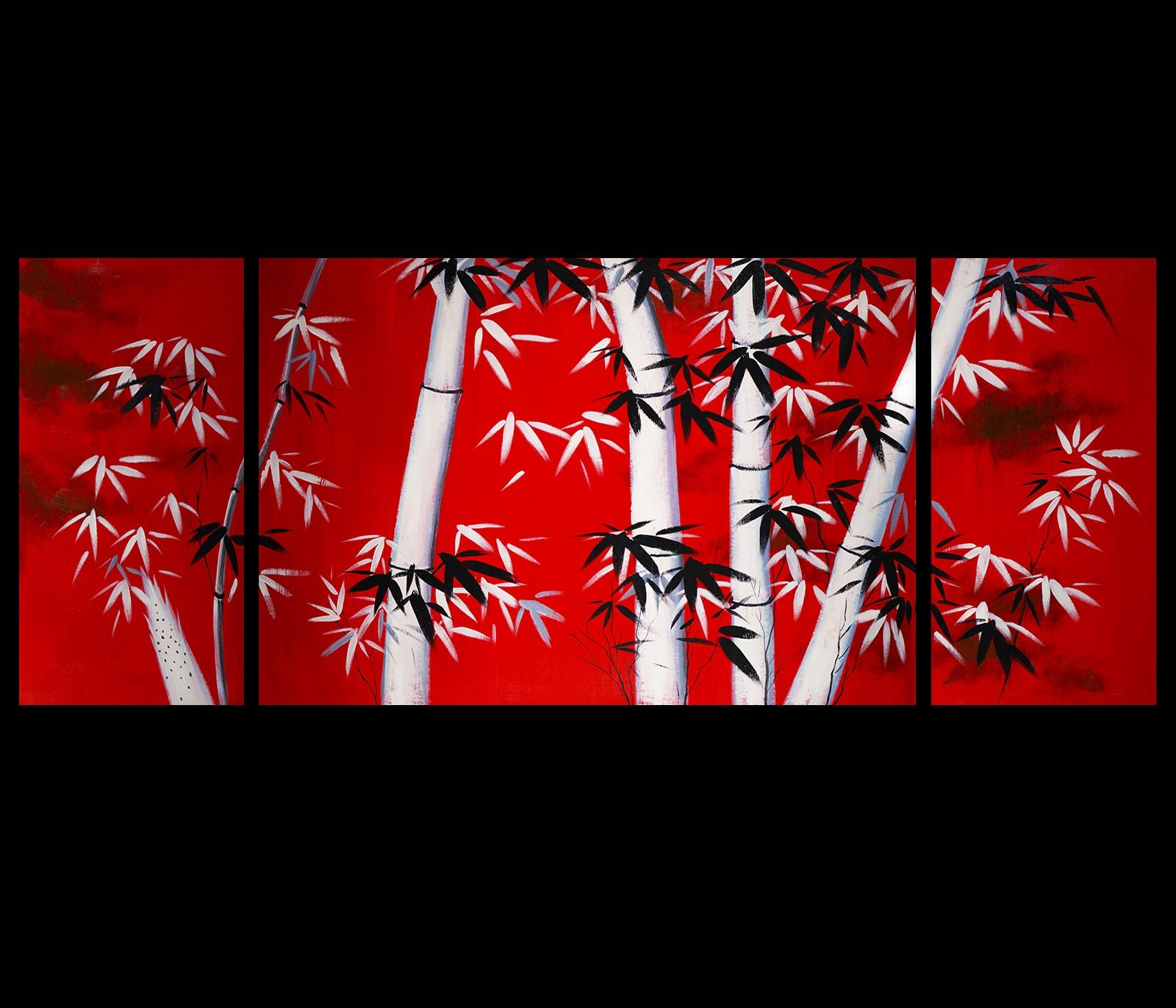Wall Art Ideas Design : Soniei Japanese Wall Art Canvas Cherry Pertaining To Japanese Wall Art Panels (Image 20 of 20)