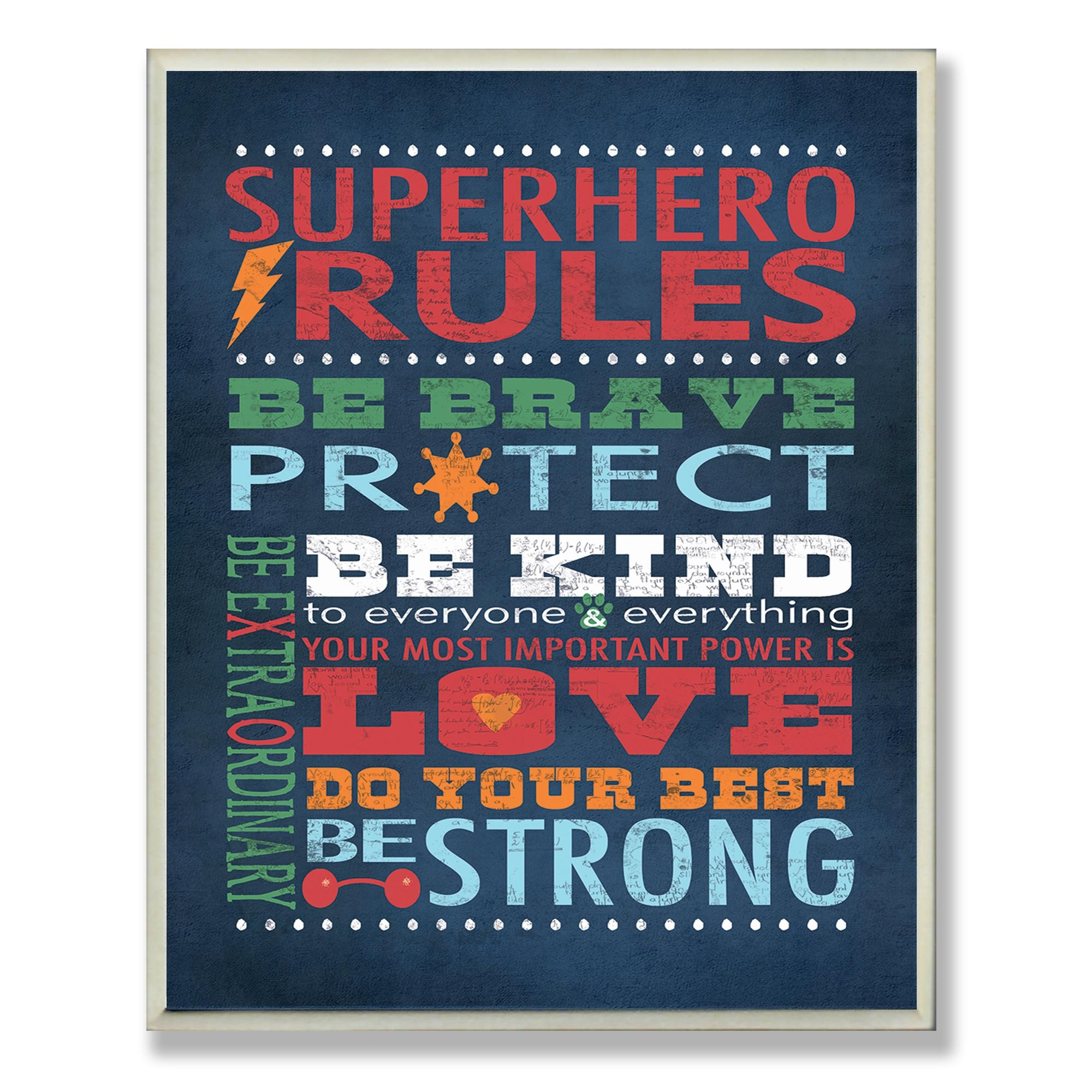 Wall Art Ideas Design : Wayfair Decorations Superhero Wall Art For Pertaining To Superhero Wall Art For Kids (Image 17 of 20)